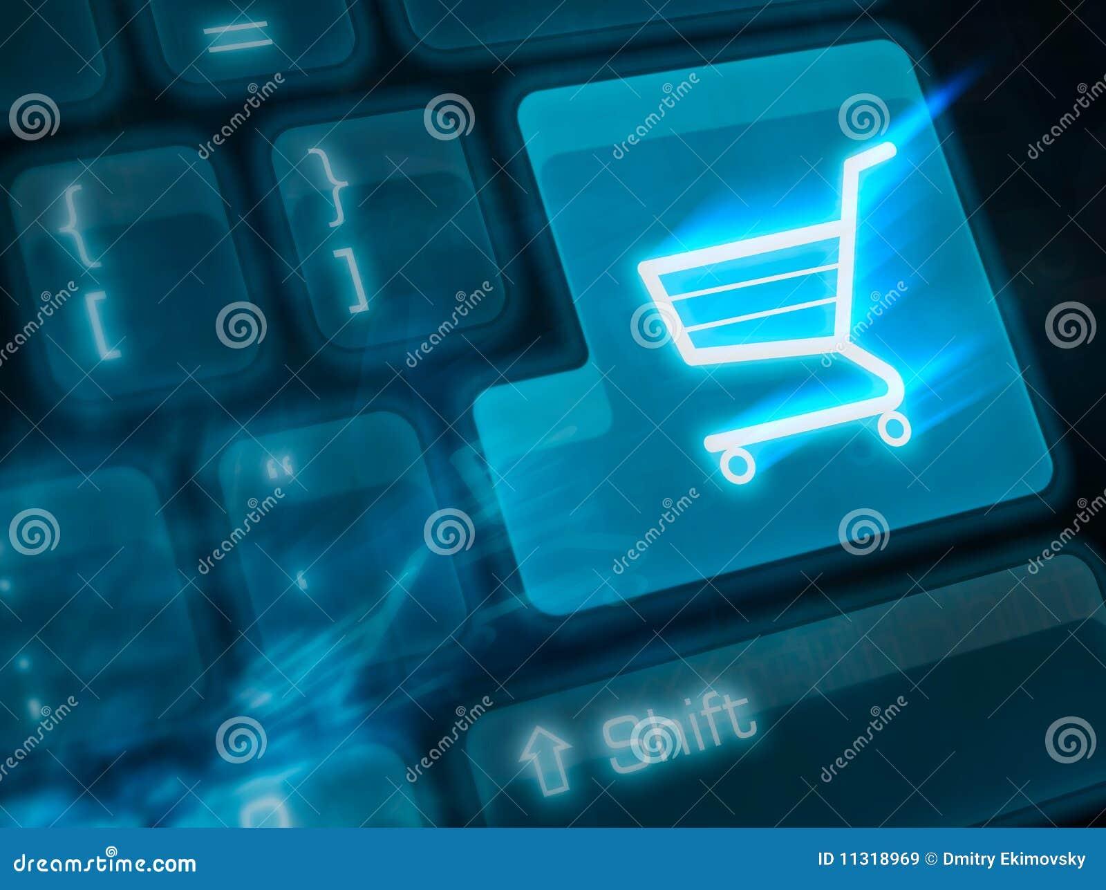 Belangrijke sleutel die - shoping