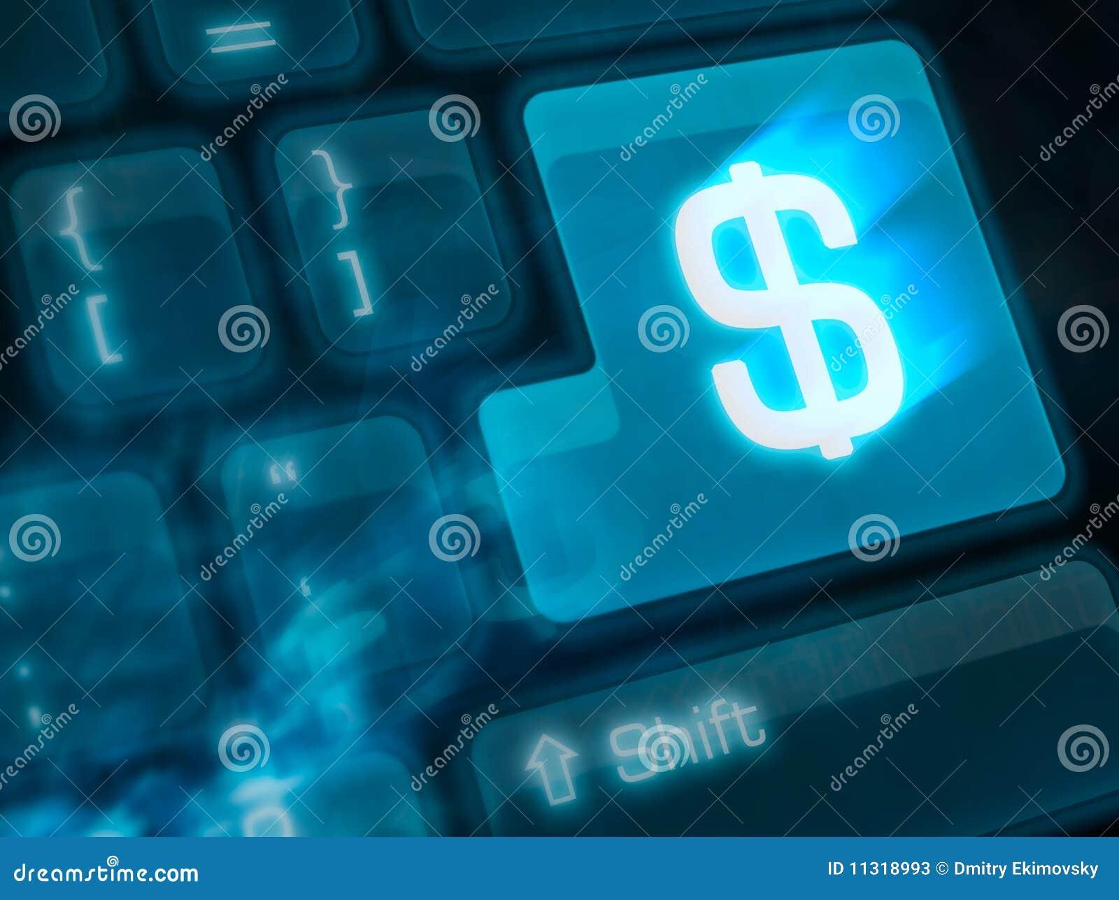 Belangrijke sleutel - geld