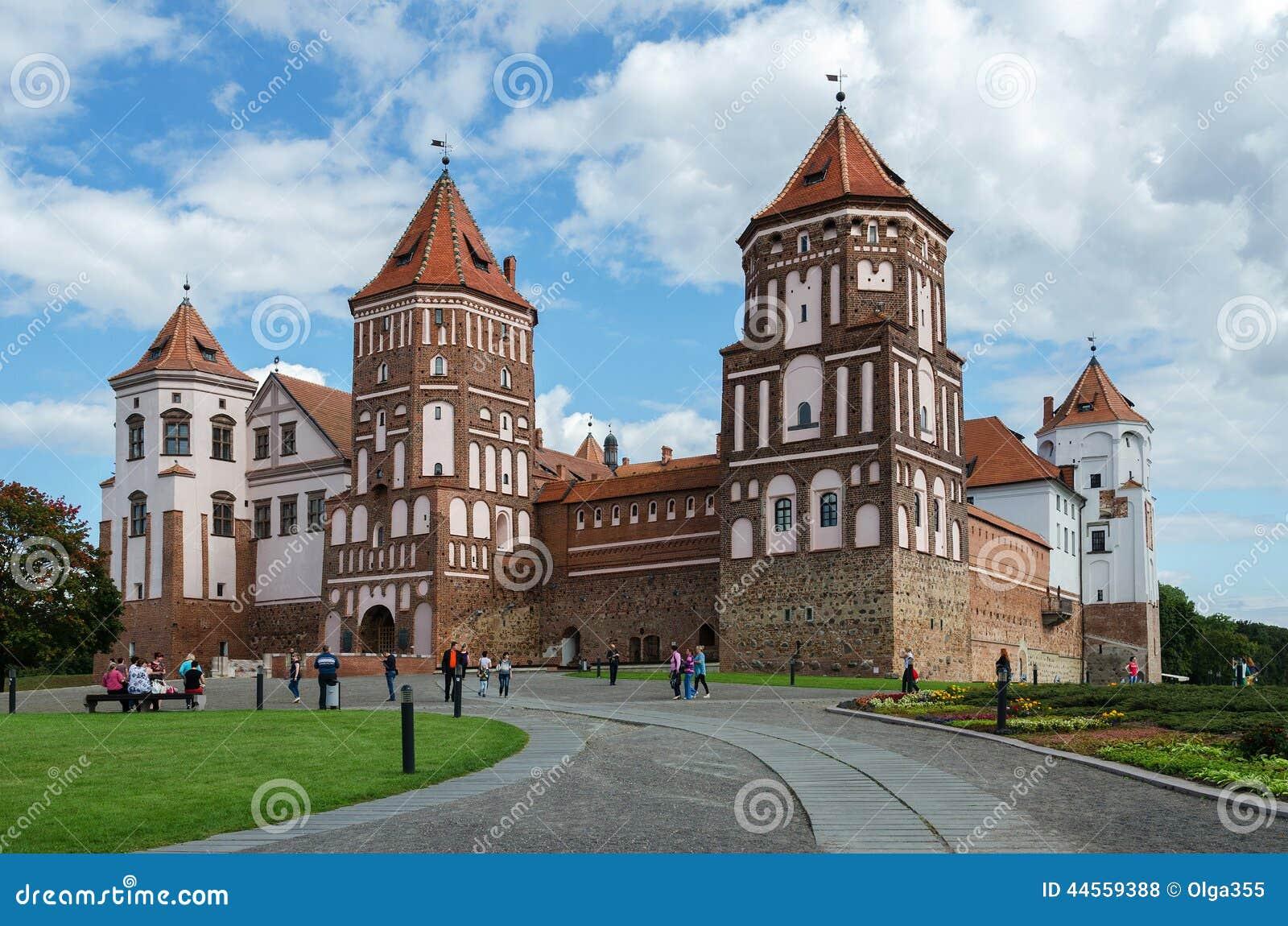Belarus, Grodno Region, Mir Castle Editorial Stock Photo ...
