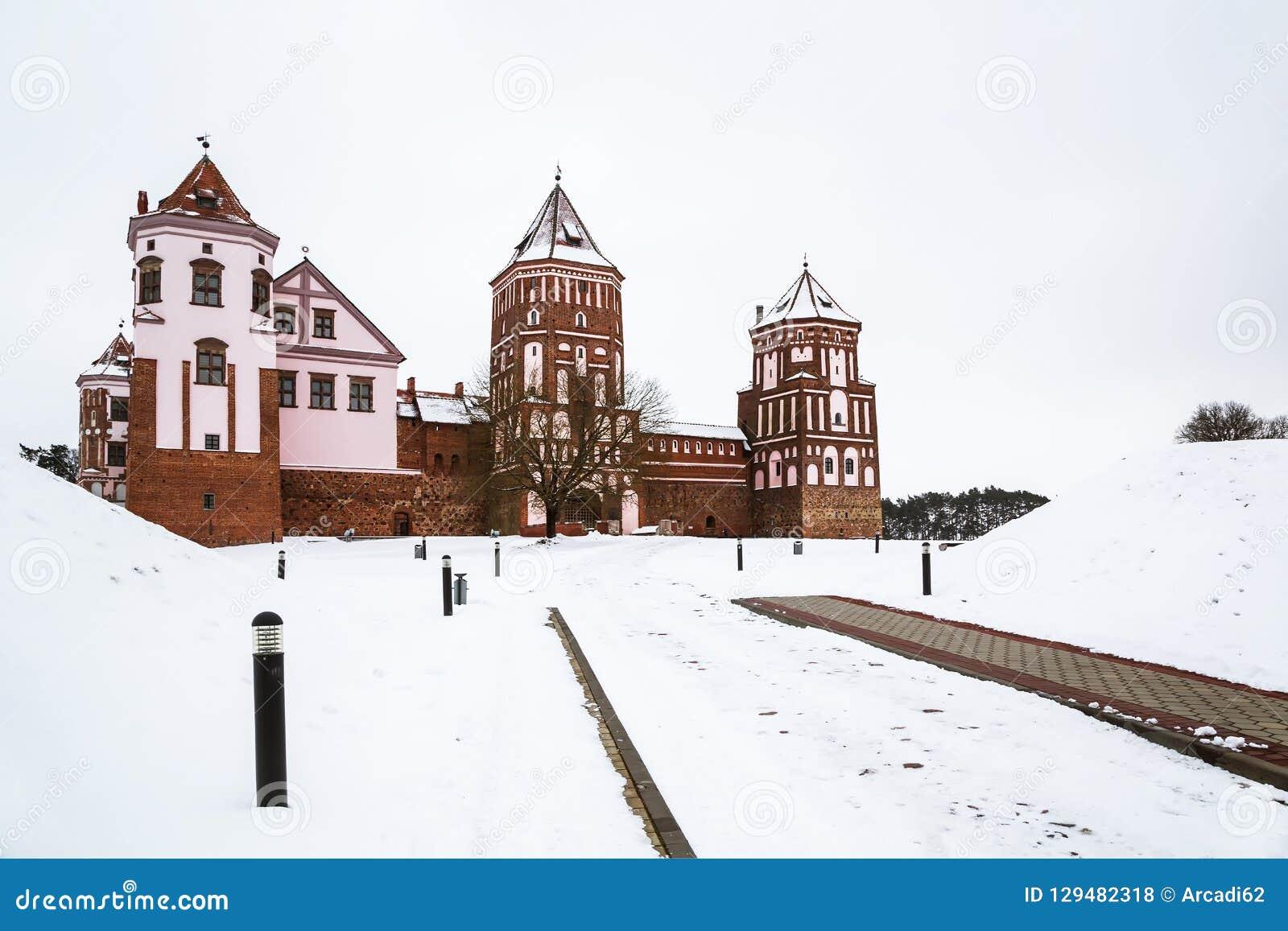 The Mir Castle. winter