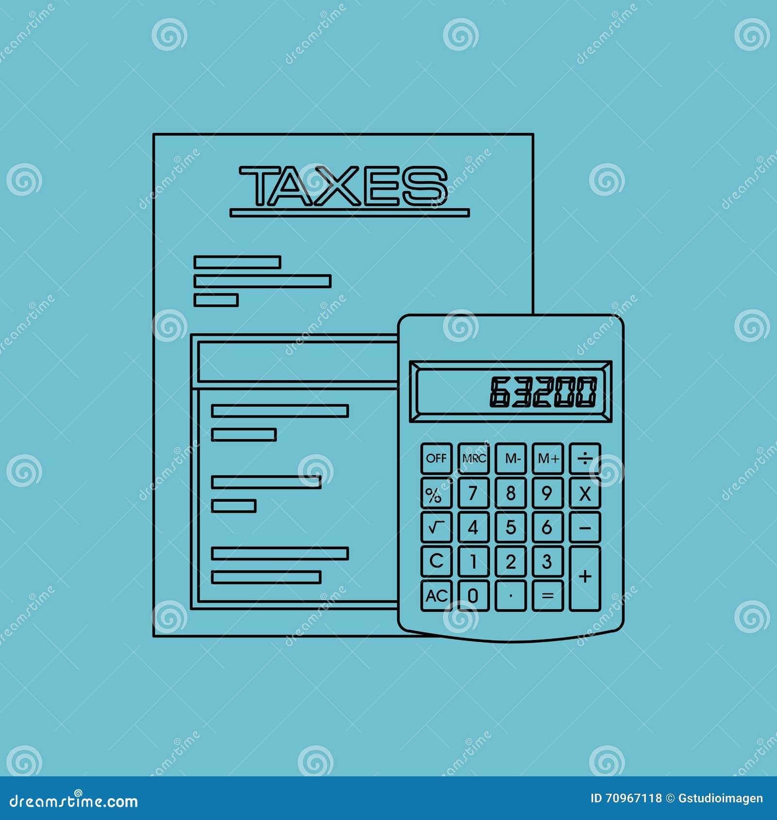 Belastingen gepast ontwerp