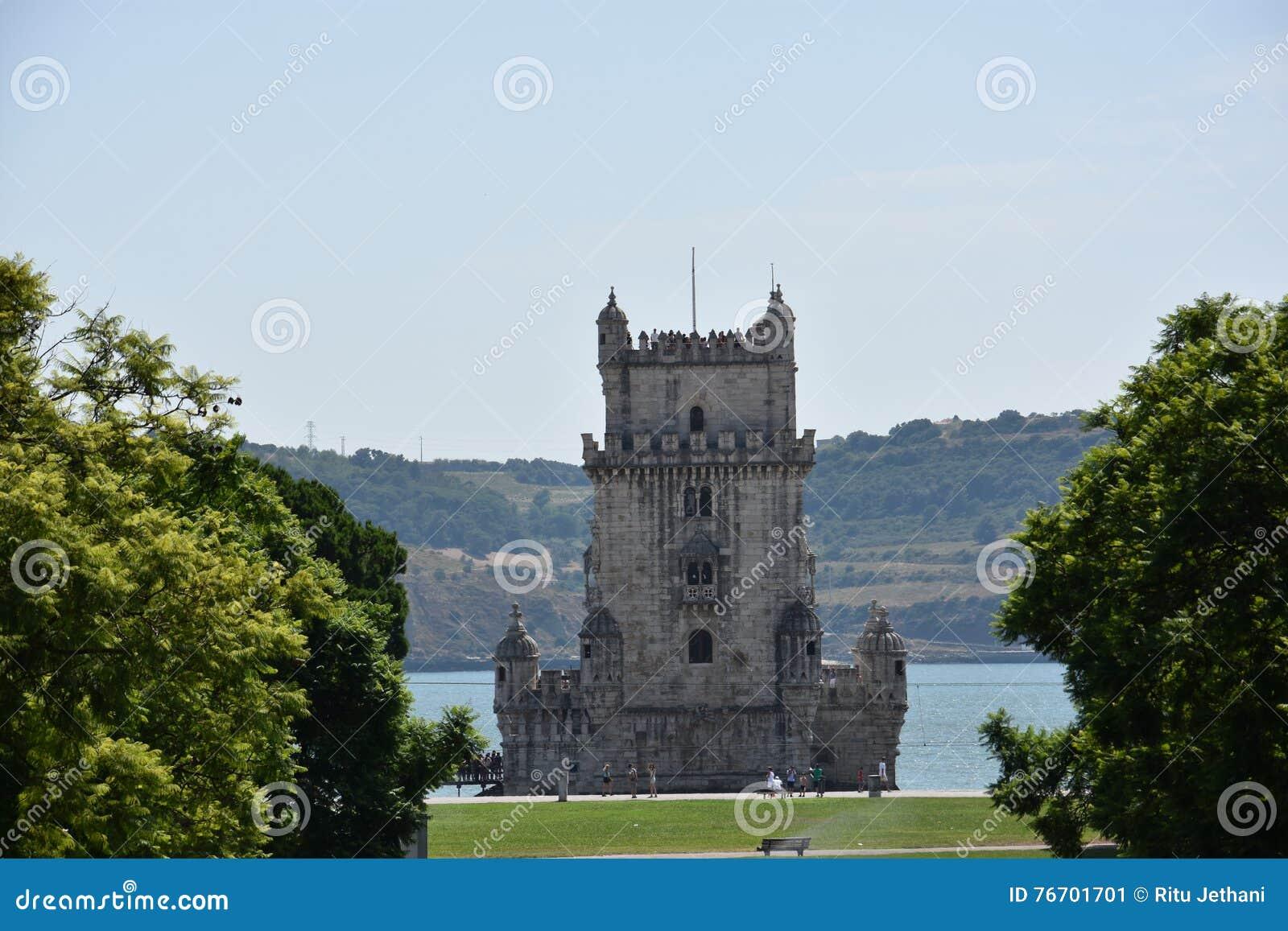 Belem lisbon portugal torn