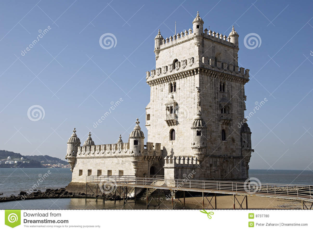 Belem S Tower In Lisbon Portugal Stock Photo Image Of