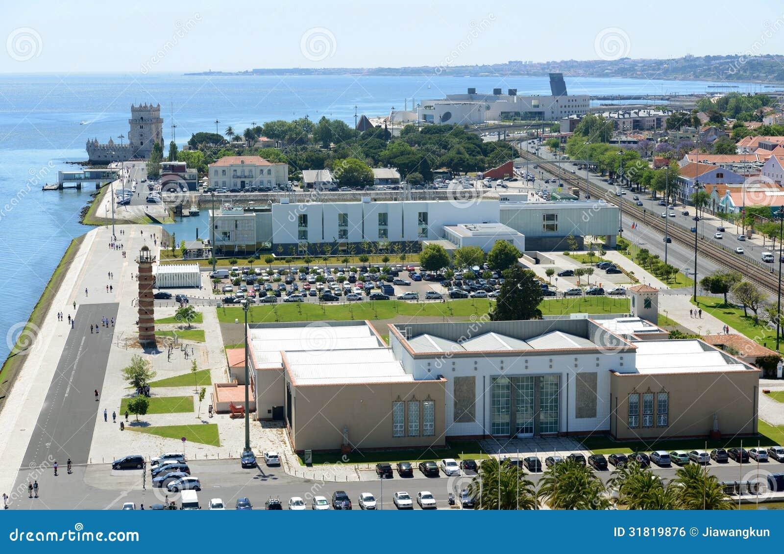Belem Tower and Museu de Arte Popular, Lisbon, Portugal