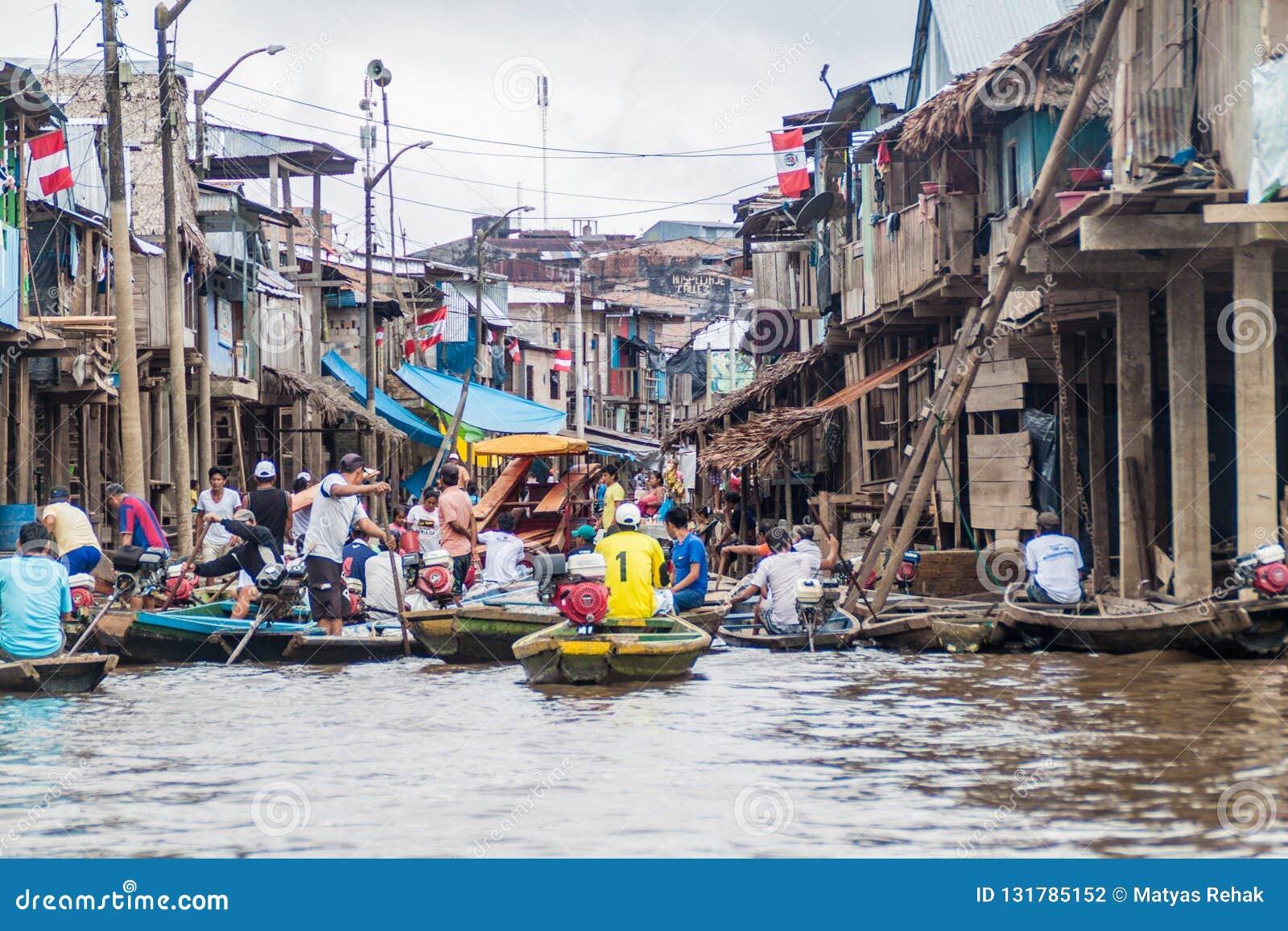 Belen grannskap av Iquitos