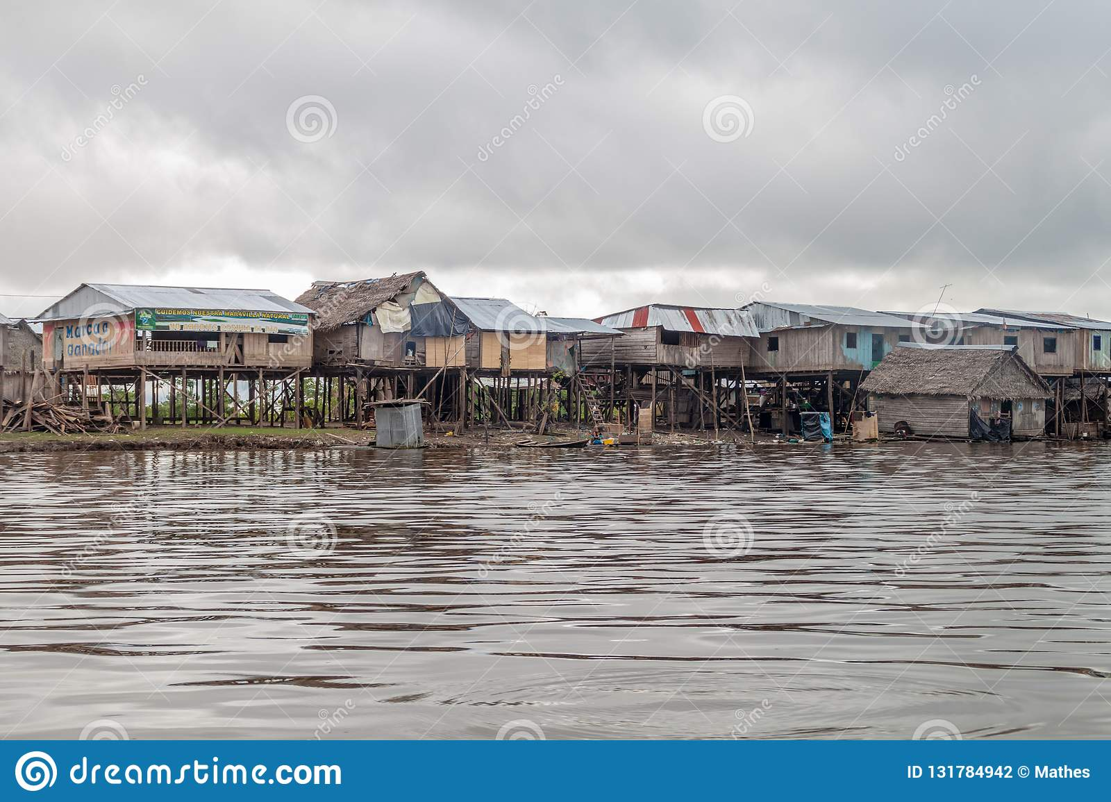 Belen neighborhood of Iquitos