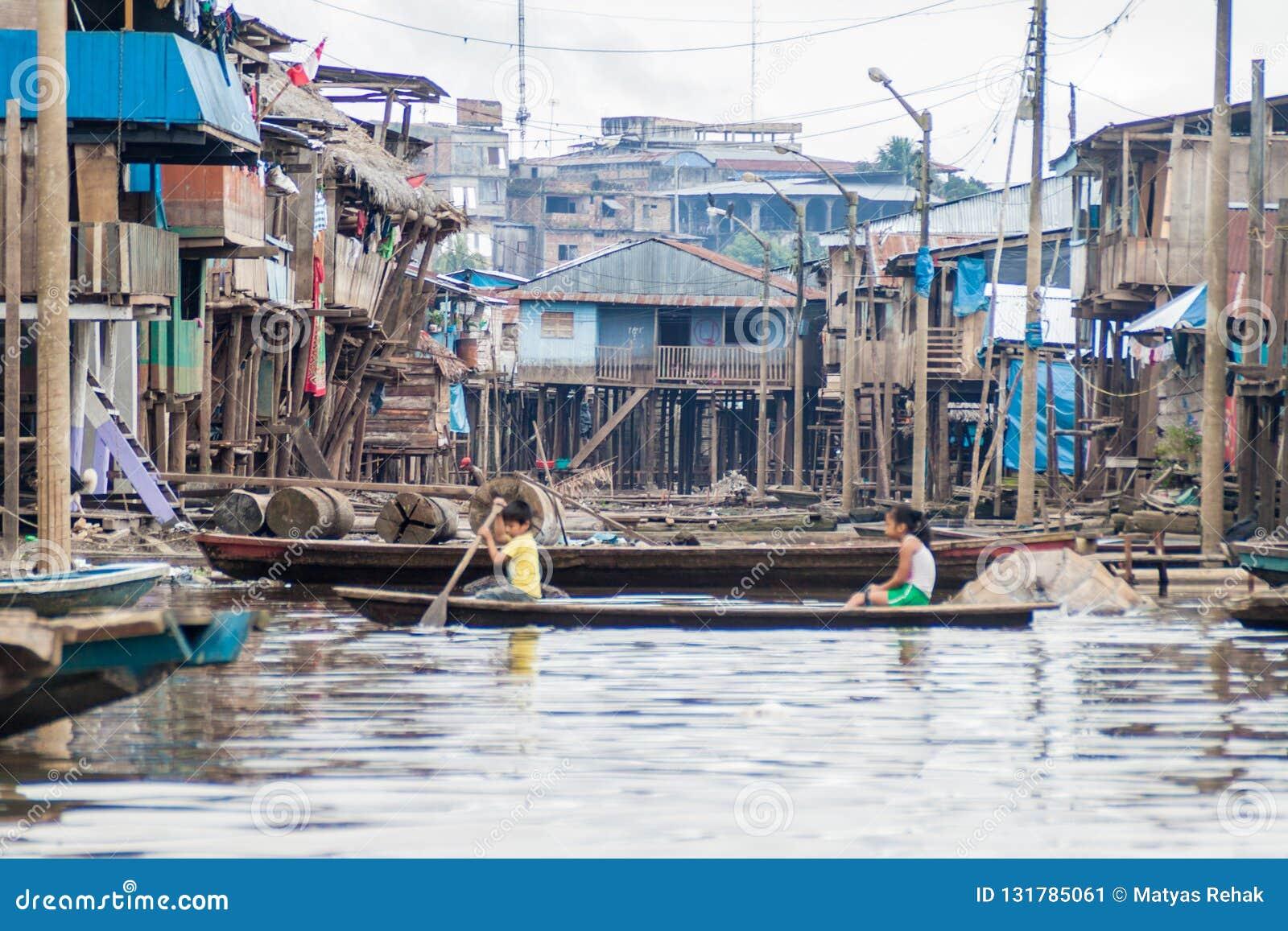 Belen neighborhood of Iquitos