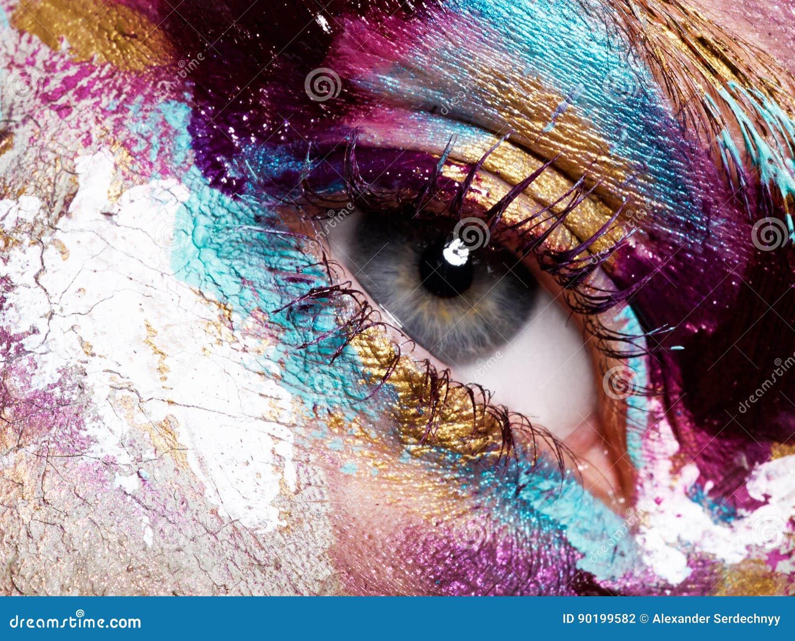 Beleza, cosméticos e composição Composição criativa brilhante