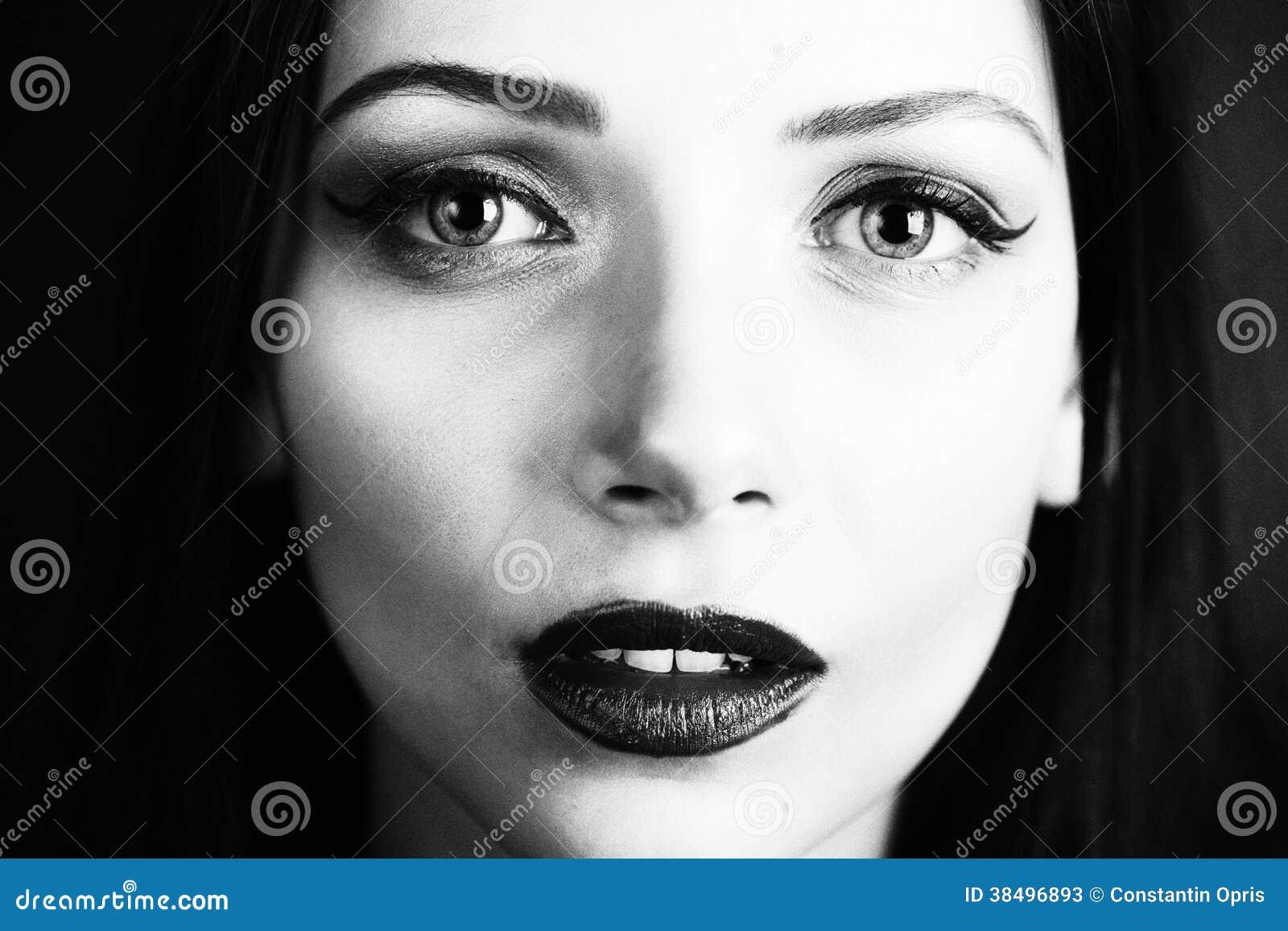 Beleza preto e branco