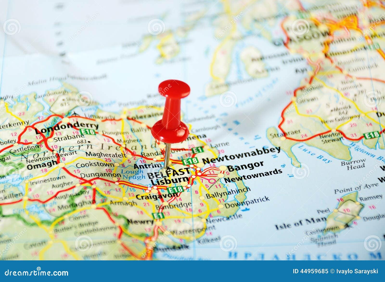 Belfast Irland, Förenade kungariket översikt