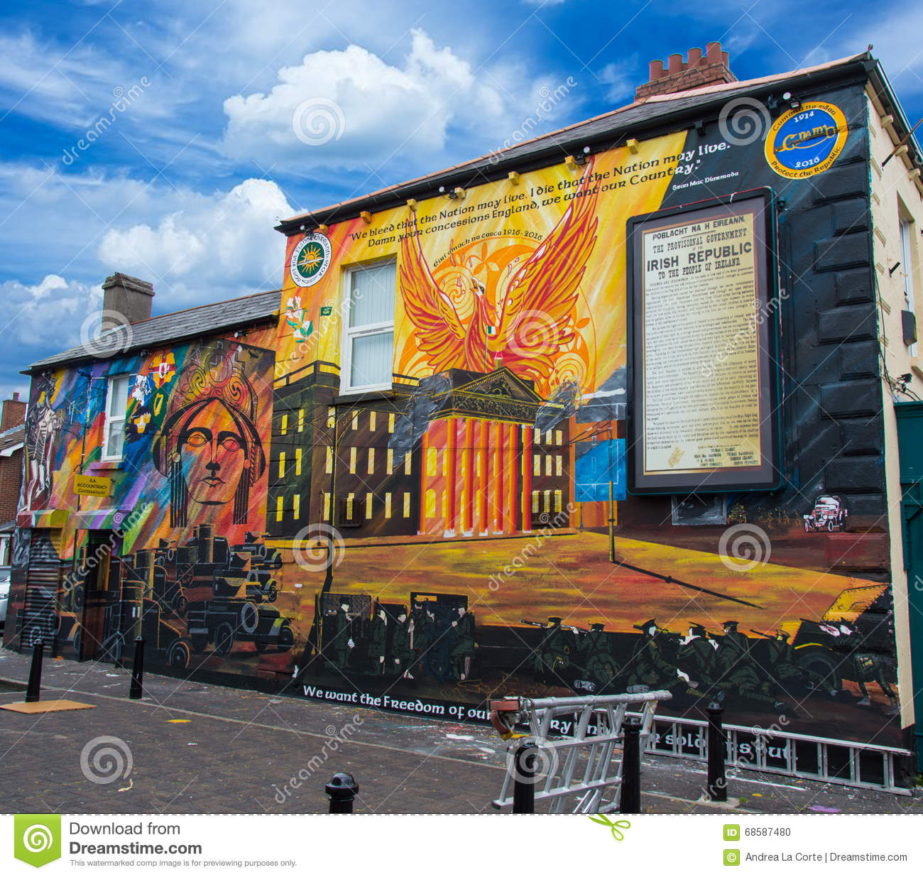 Mural northern ireland northern ireland travel tour of for Chaise yoh viral