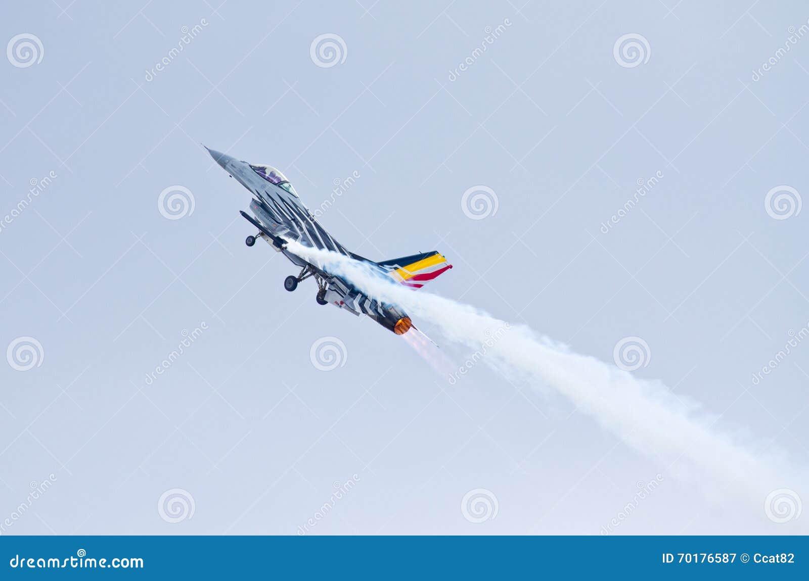BelgareF-16 på Radom Airshow, Polen