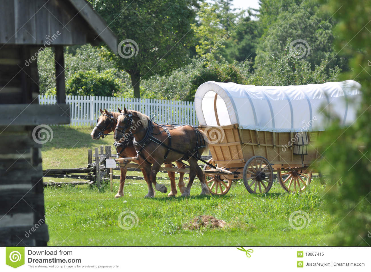 1800 Covered Wagon Plans