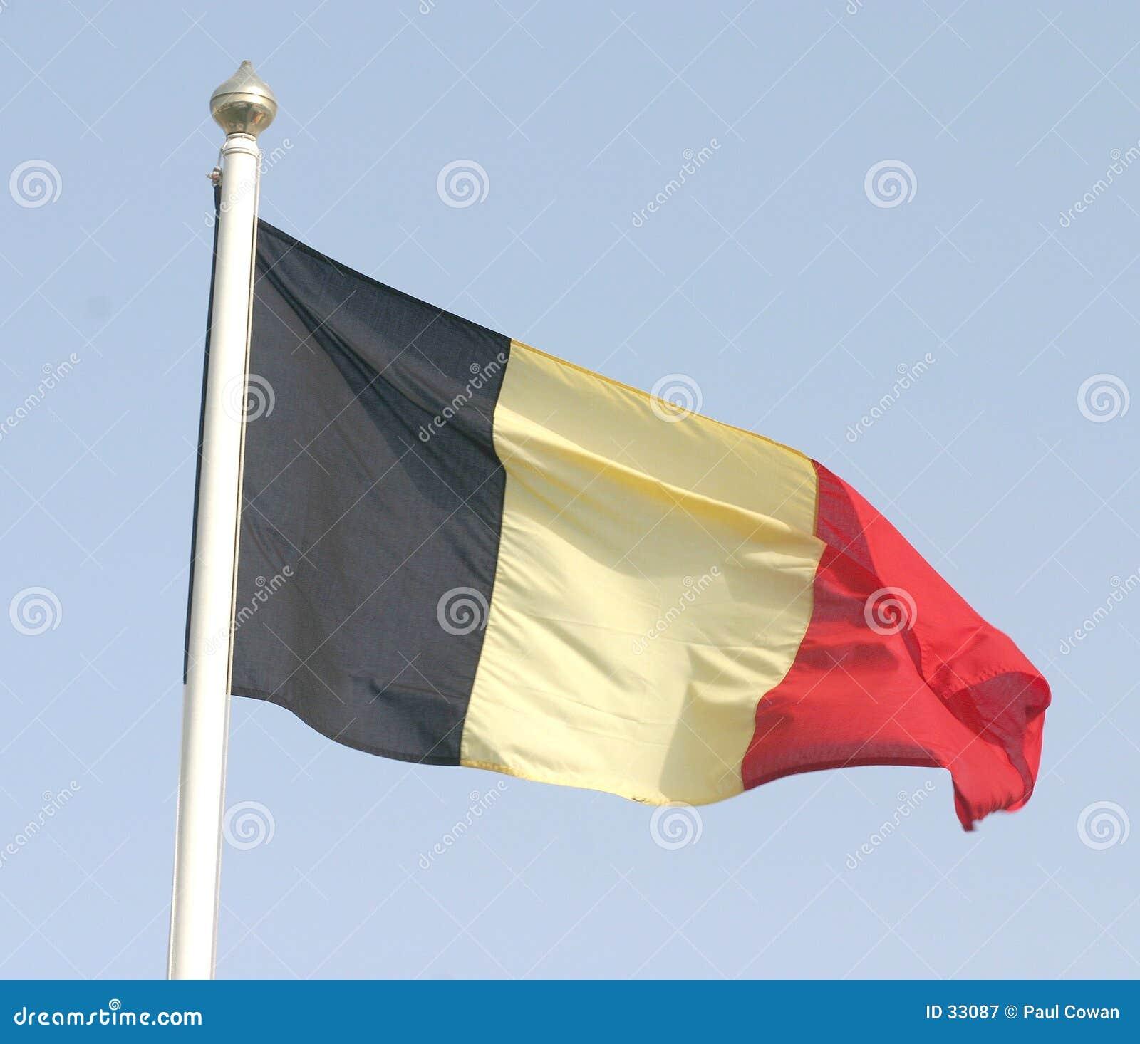 Belgijska flagę