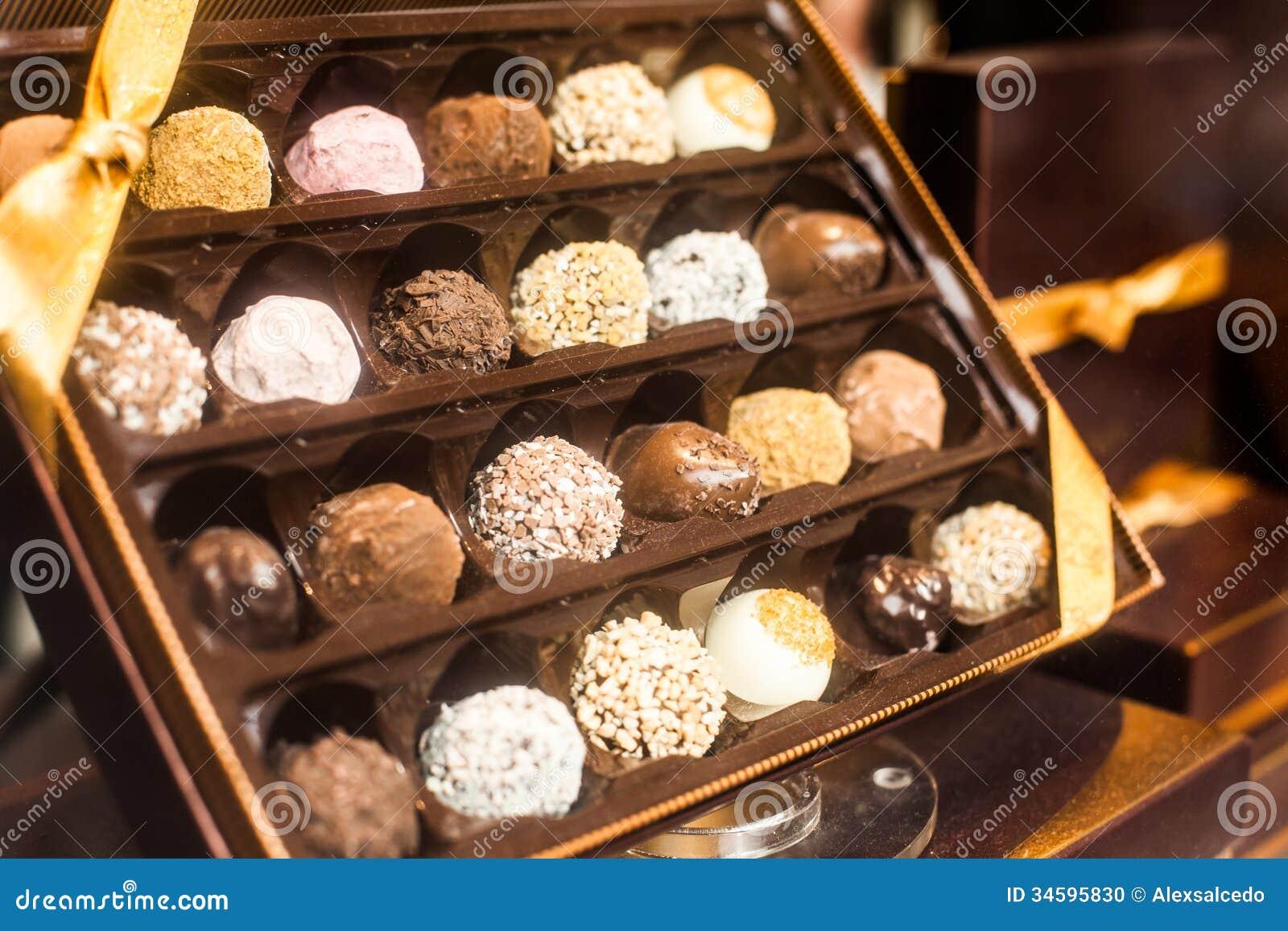 Belgium Chocolate Stock Photo - Image: 34595830