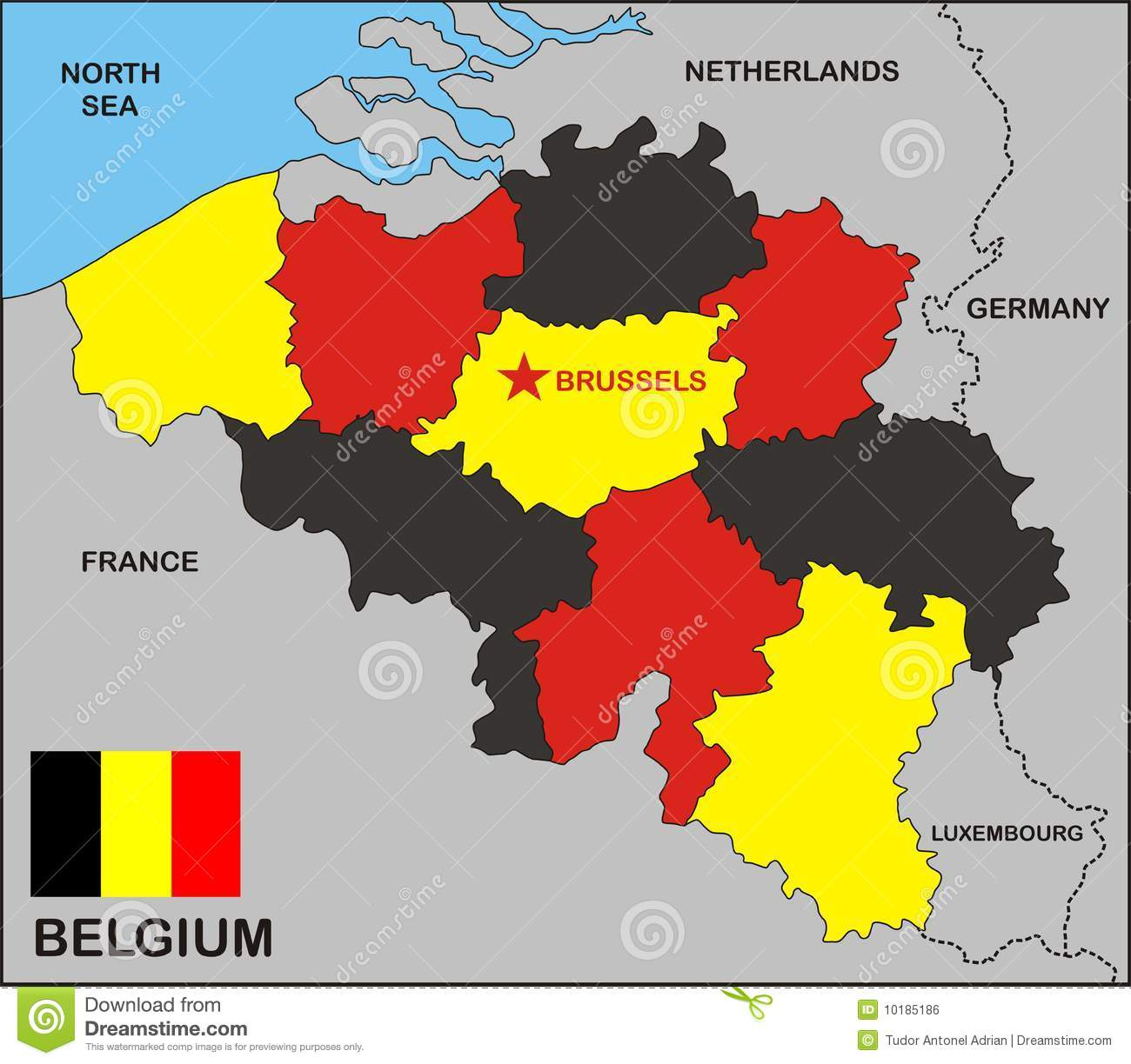 Talleyrand partition plan for Belgium
