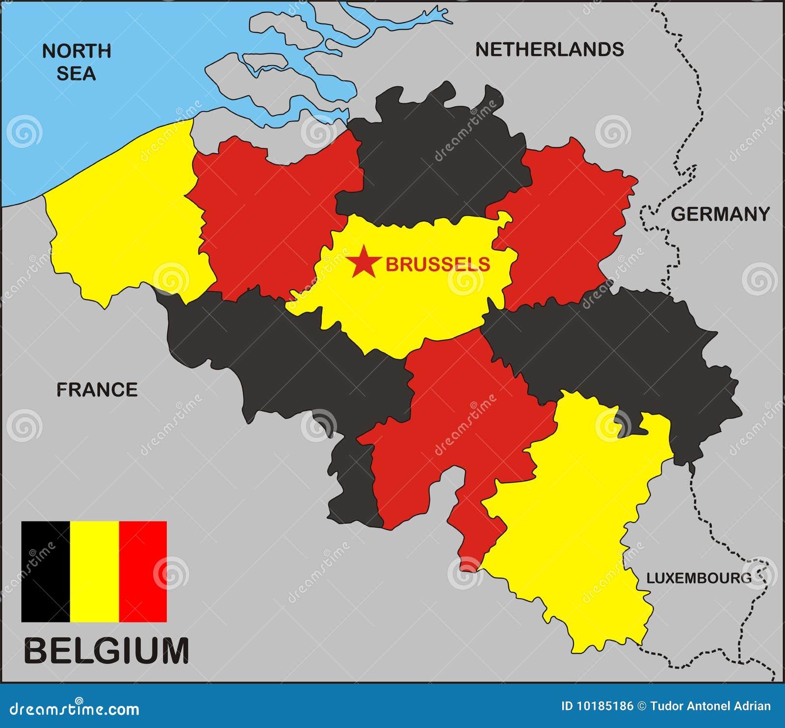 Belgium Political Map Photos Images and Pictures 250 Images – Belgium Political Map