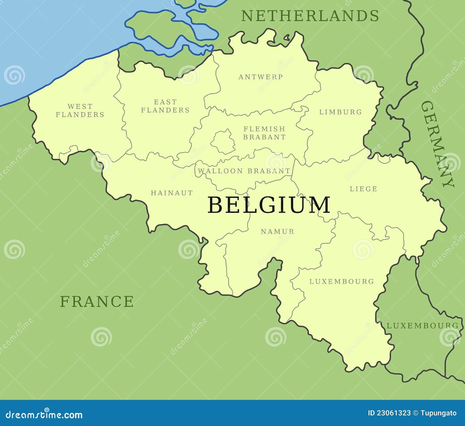 Belgium Provinces Map Photos Image 23061323 – Belgium Provinces Map