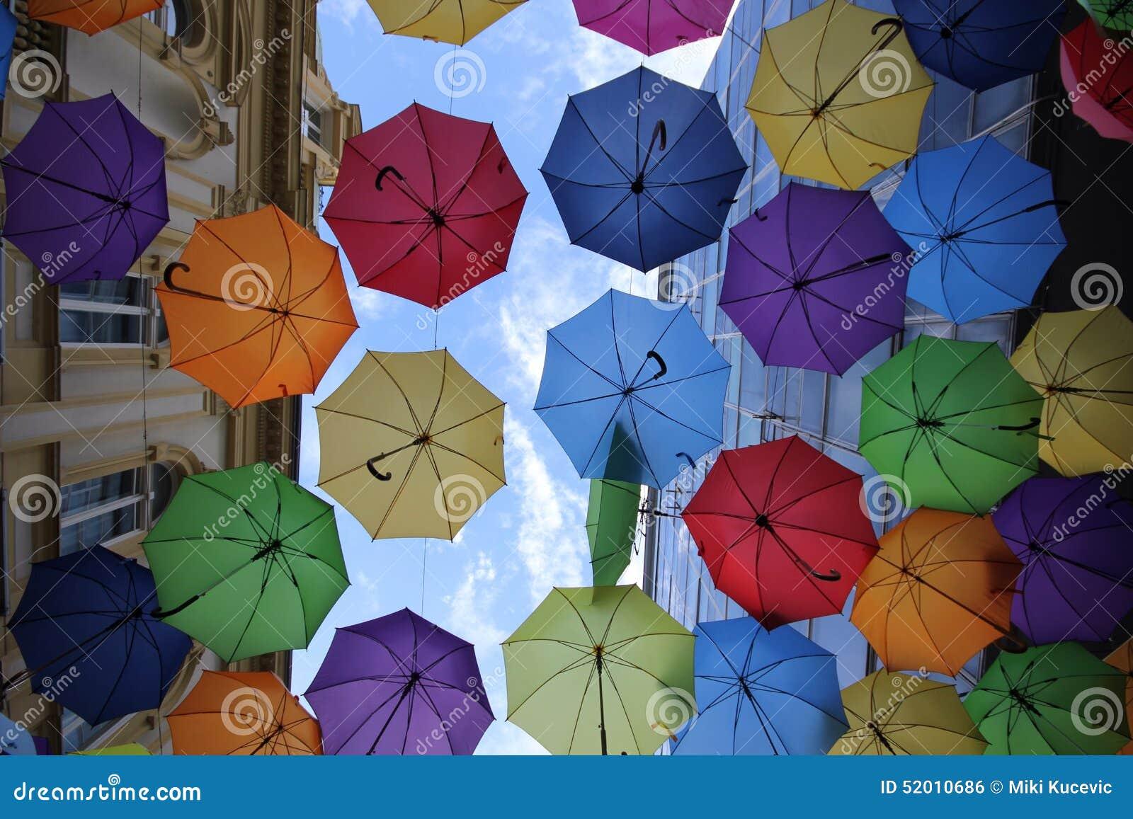 belgrade du parapluie color - Parapluie Color