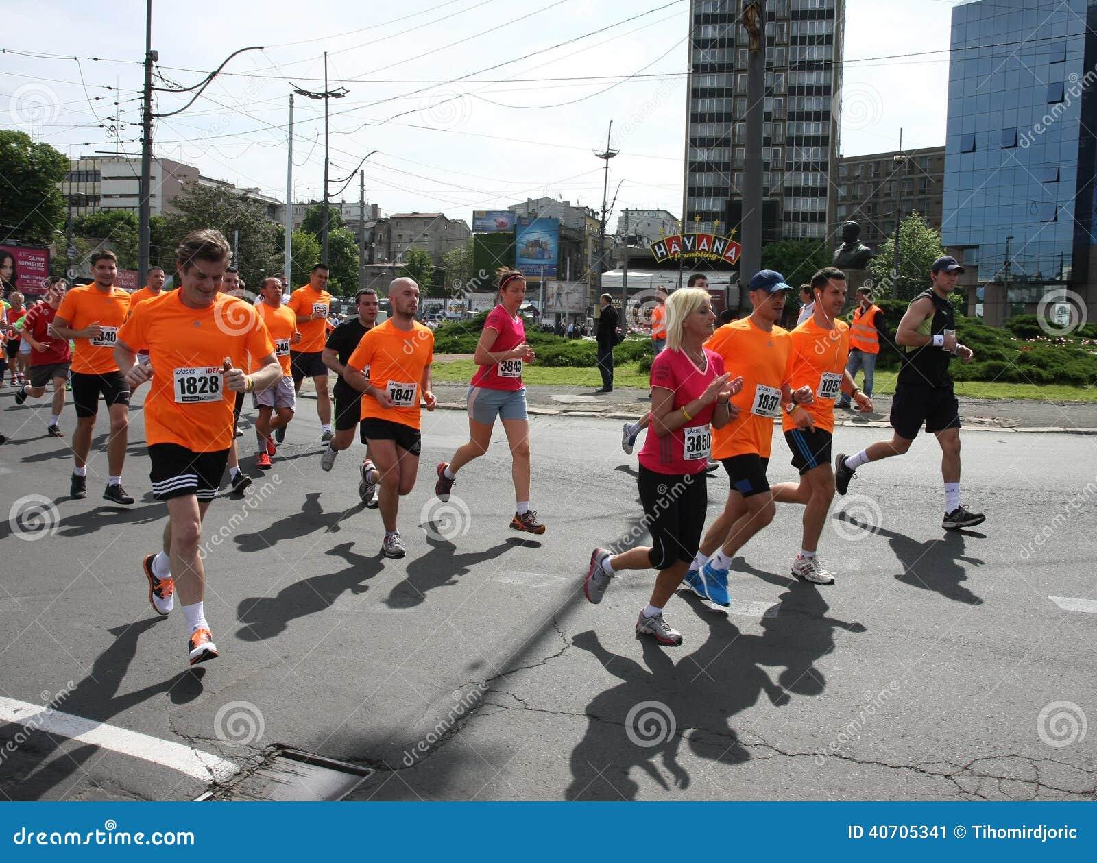 Belgrade Marathon 2014.