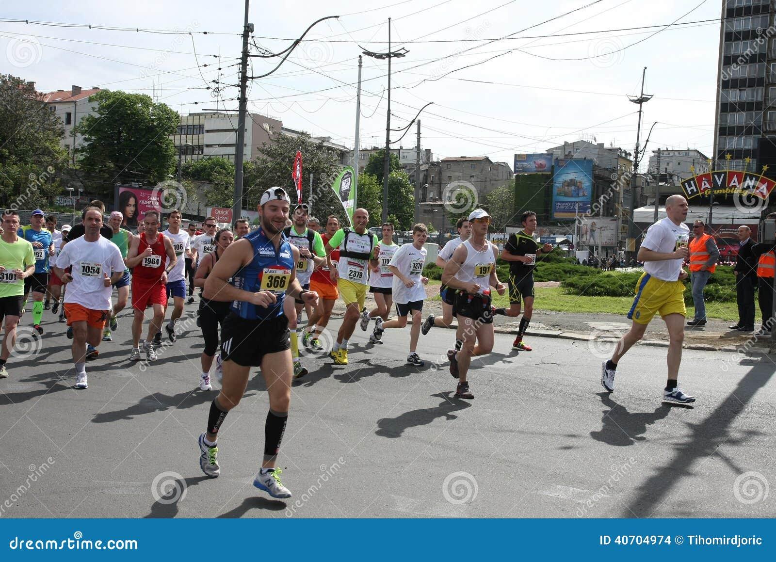 Belgrade maraton 2014