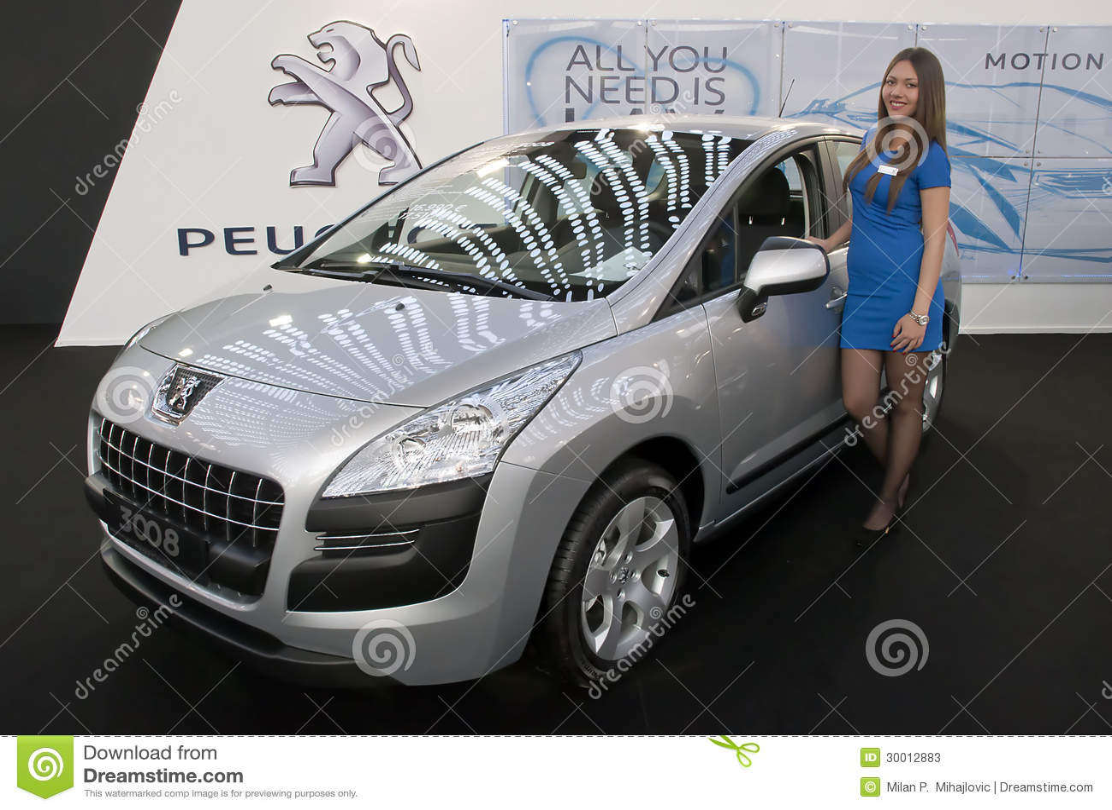 Samochodowy Peugeot 3008