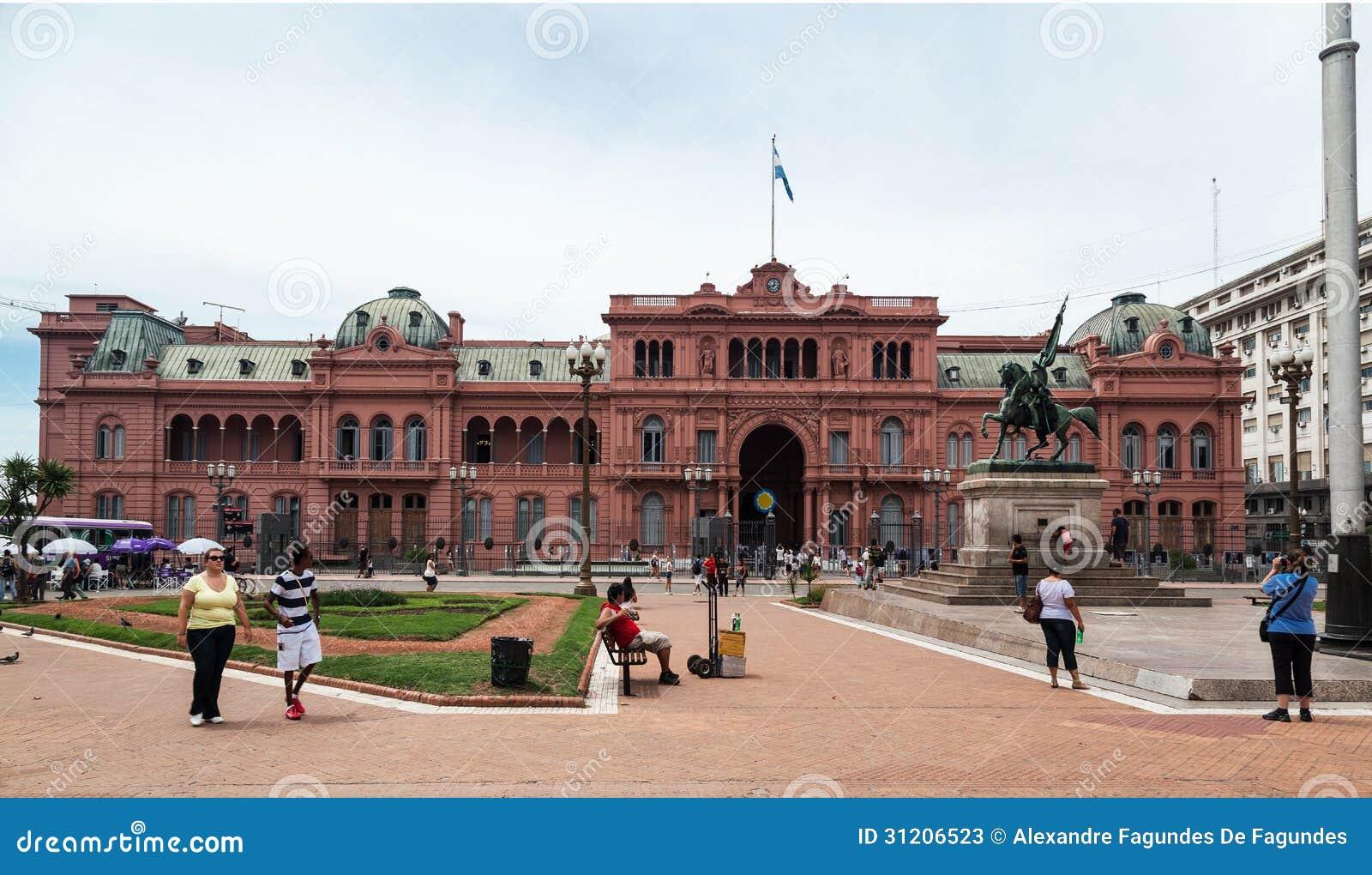 Belgrano general casa rosada argentina editorial stock for Casa argentina