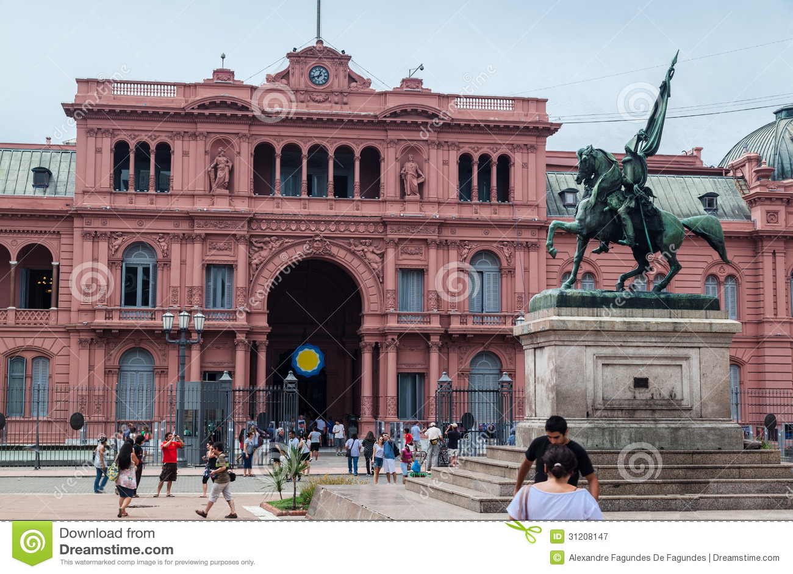 Belgrano general casa rosada argentina editorial for Casa argentina