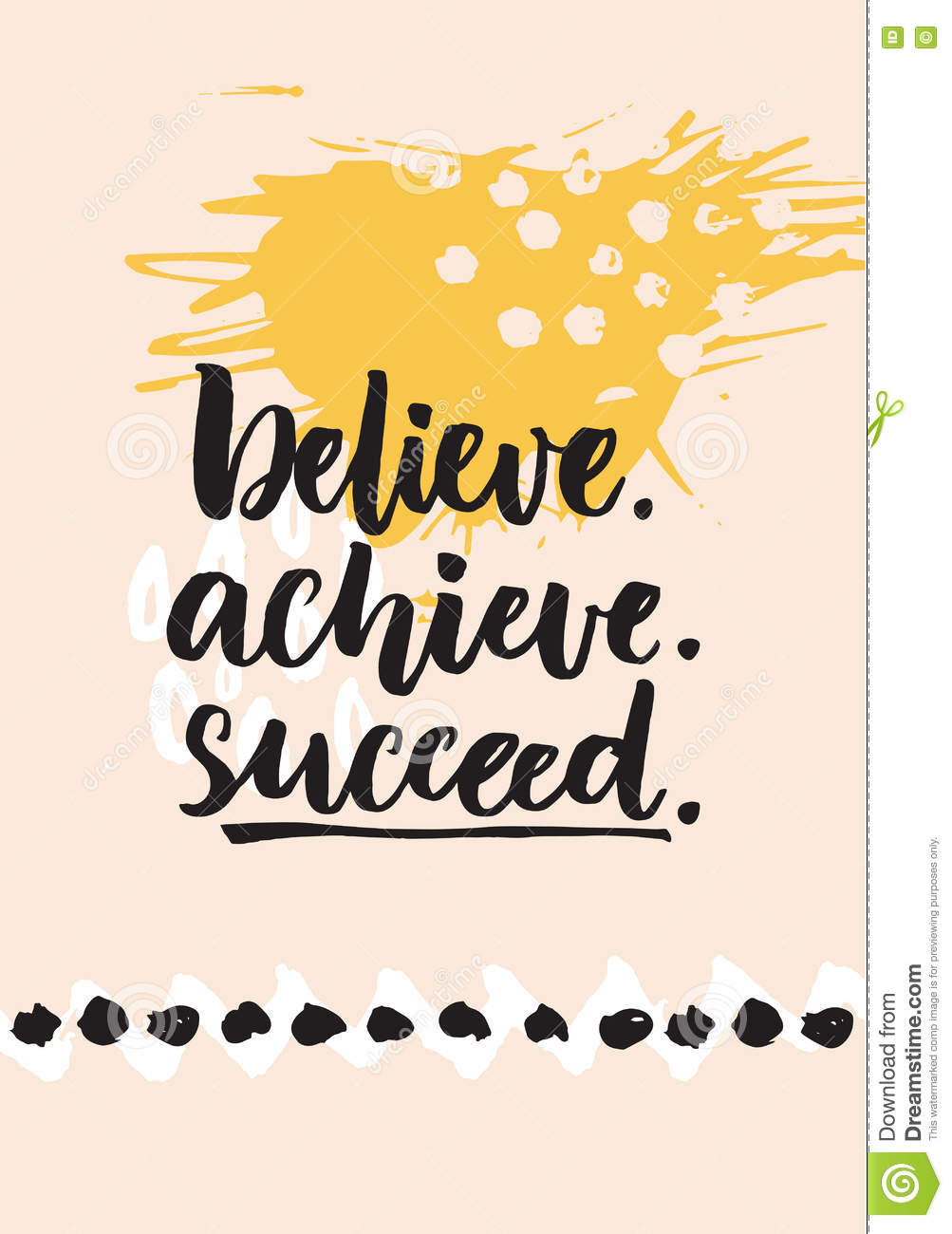 believe achieve succeed inspirational quote about life positive