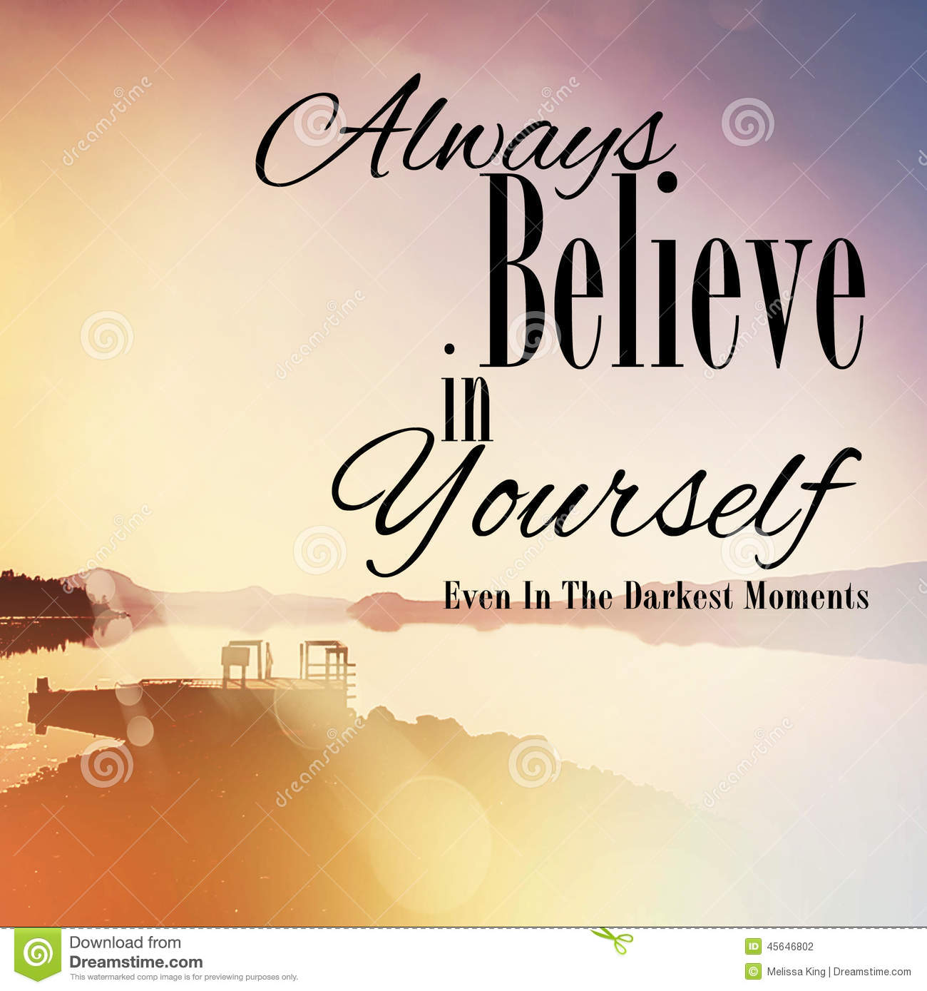 Believe Yourself Stock Images Download 1124 Royalty Free Photos