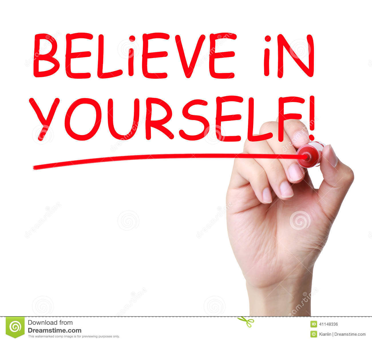 I believe in myself essay