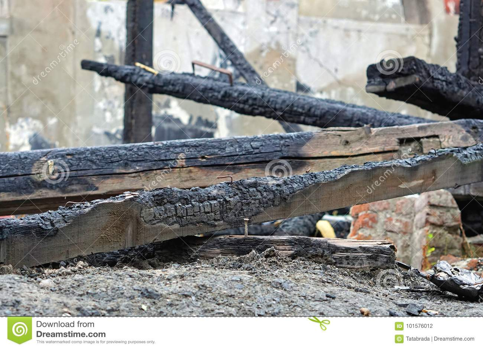 Belkowata pożarnicza szkoda