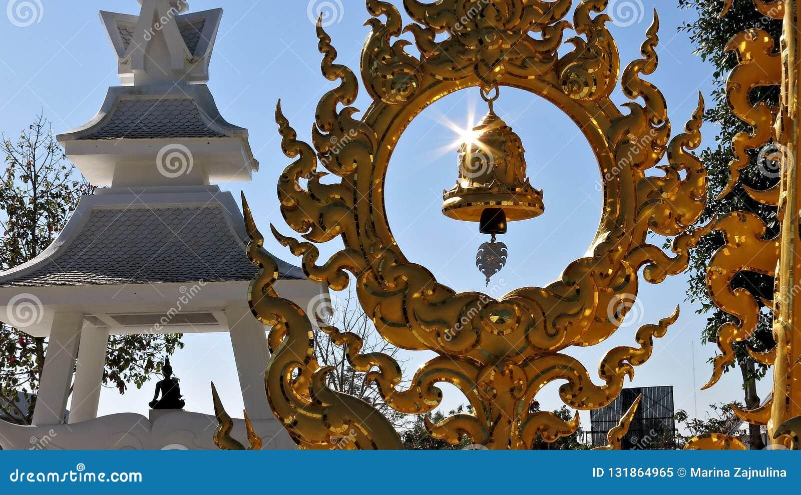 Bell im weißen Palast, Thailand