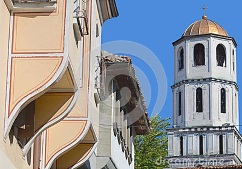 Bell tower of Church of Sveti Konstantin and Elena