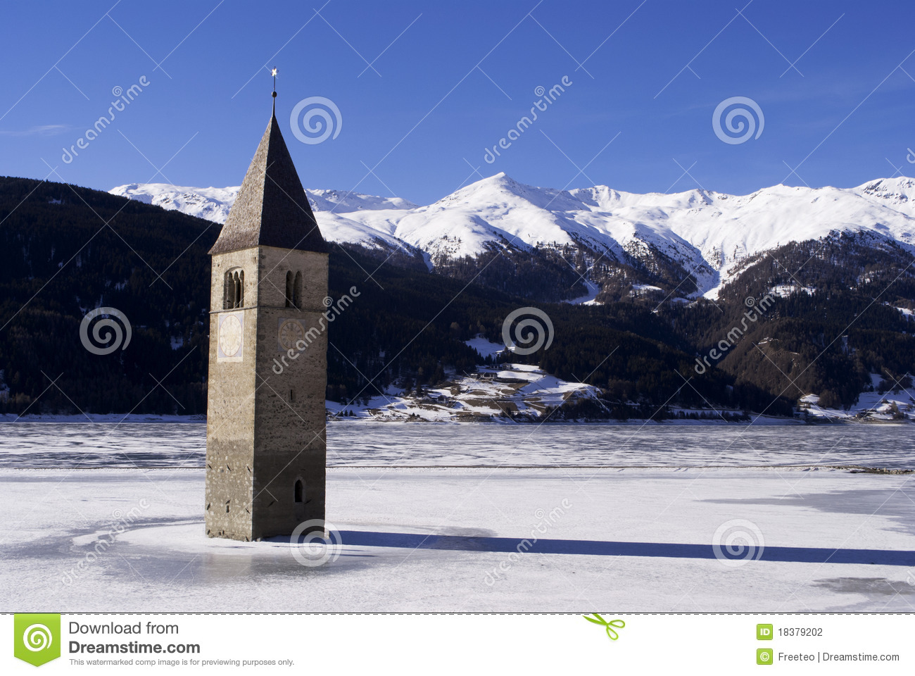 Bell tower ice