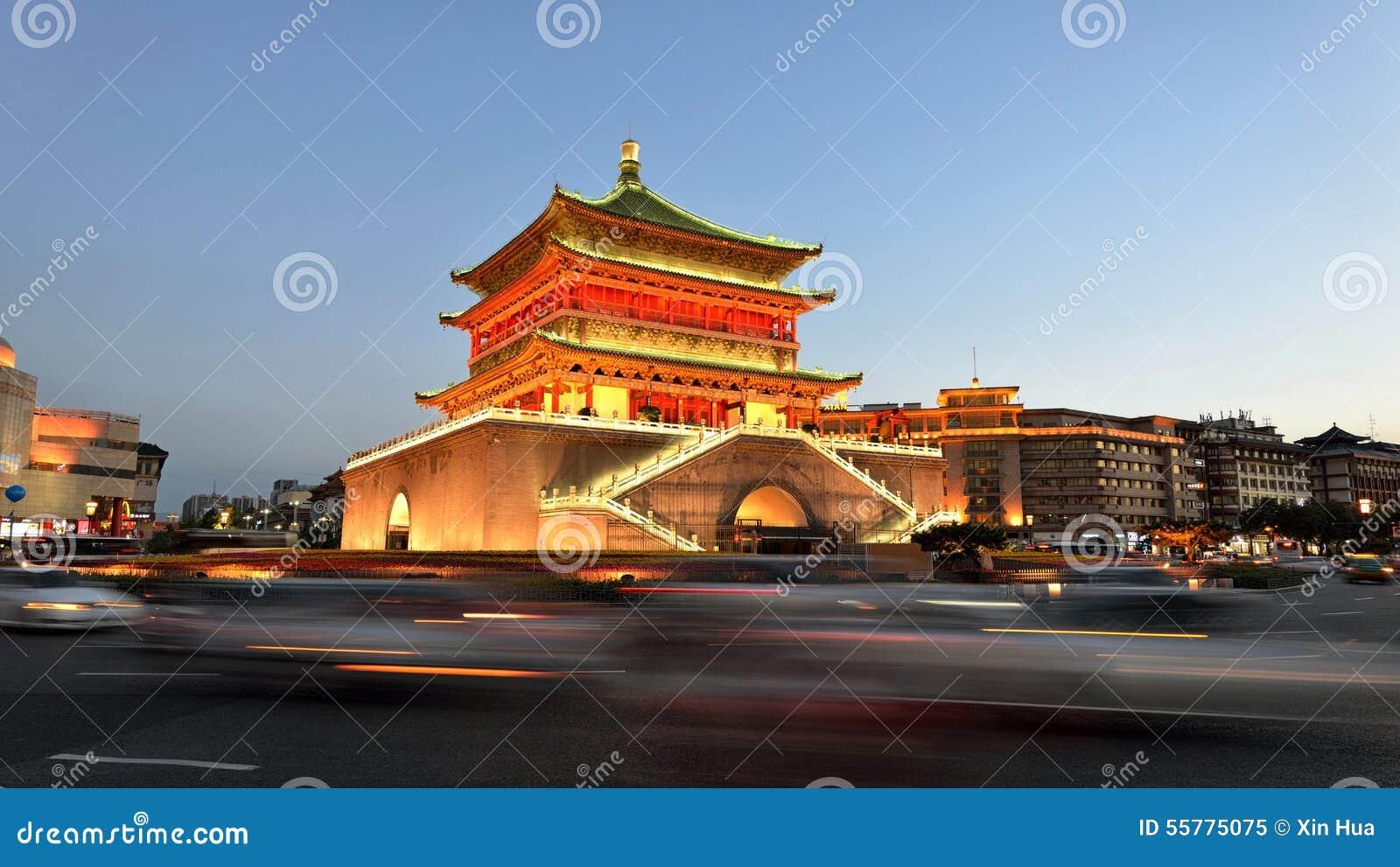 Bell Tower of Xi an