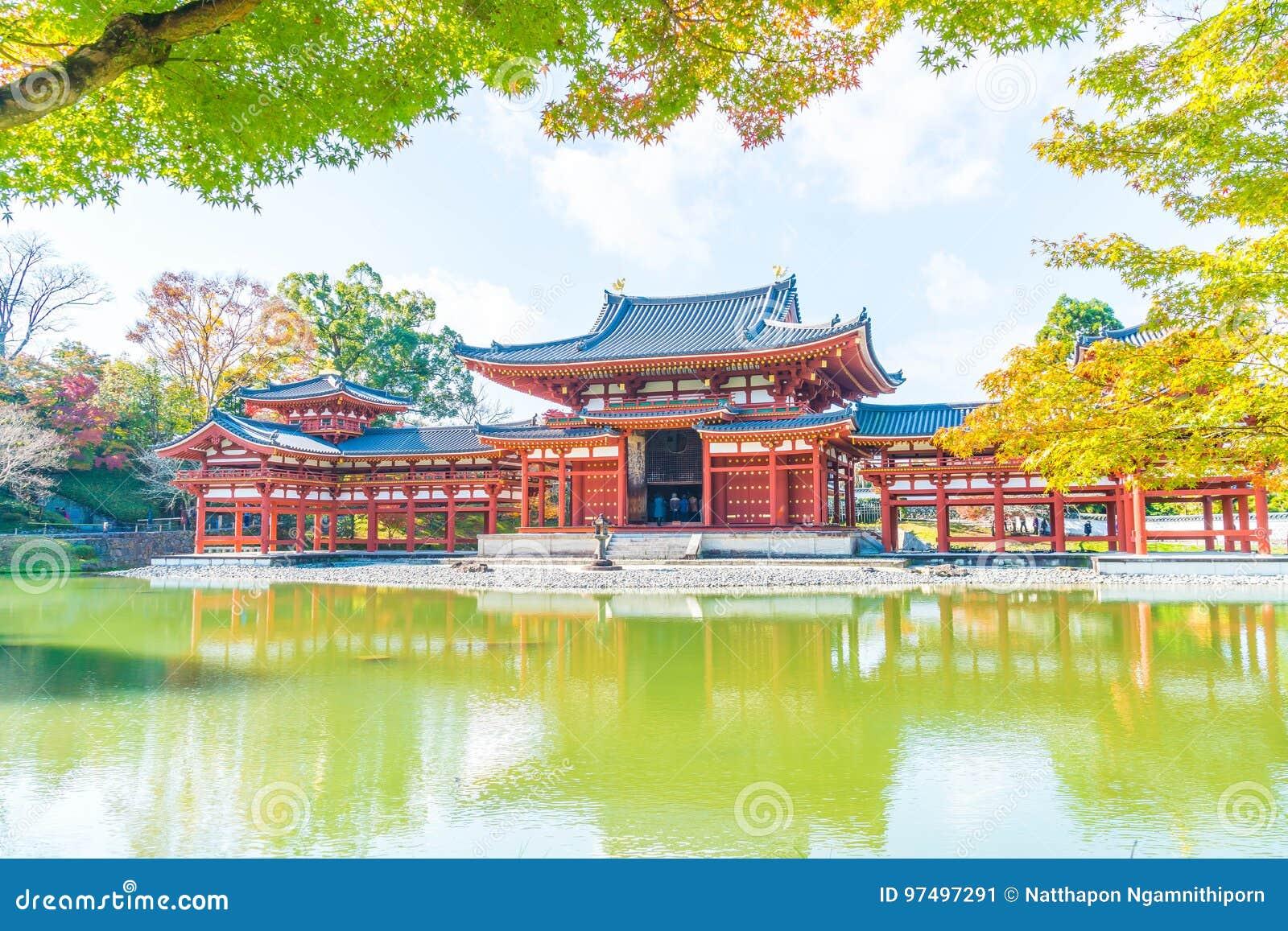 Bella architettura Byodo-in tempio a Kyoto