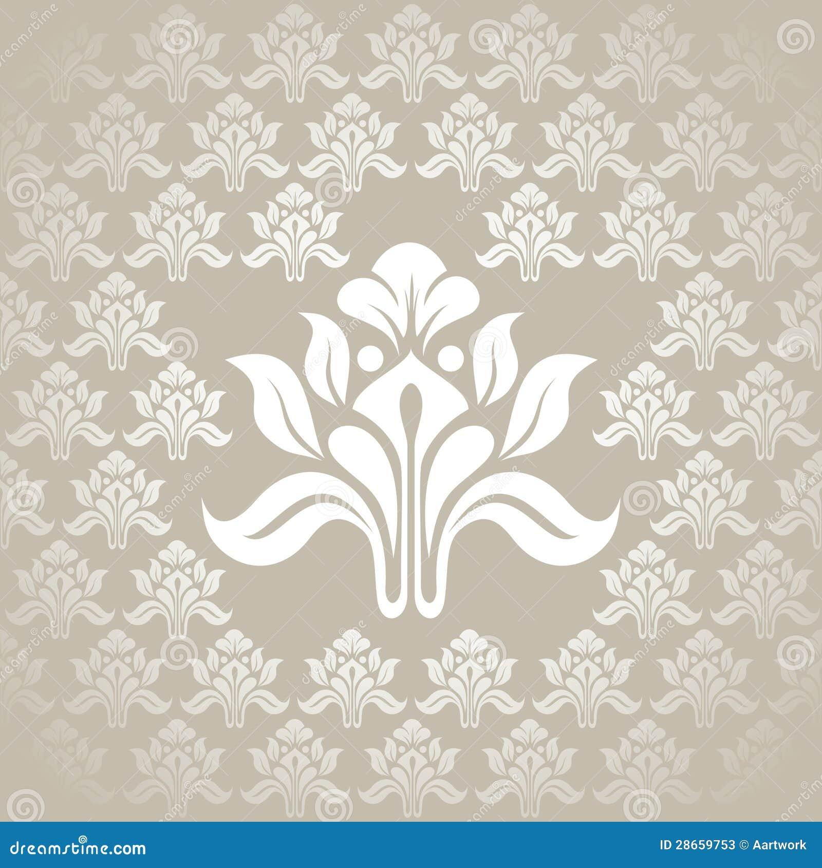 Bella carta da parati d 39 argento senza cuciture fotografie for Carta parati lusso