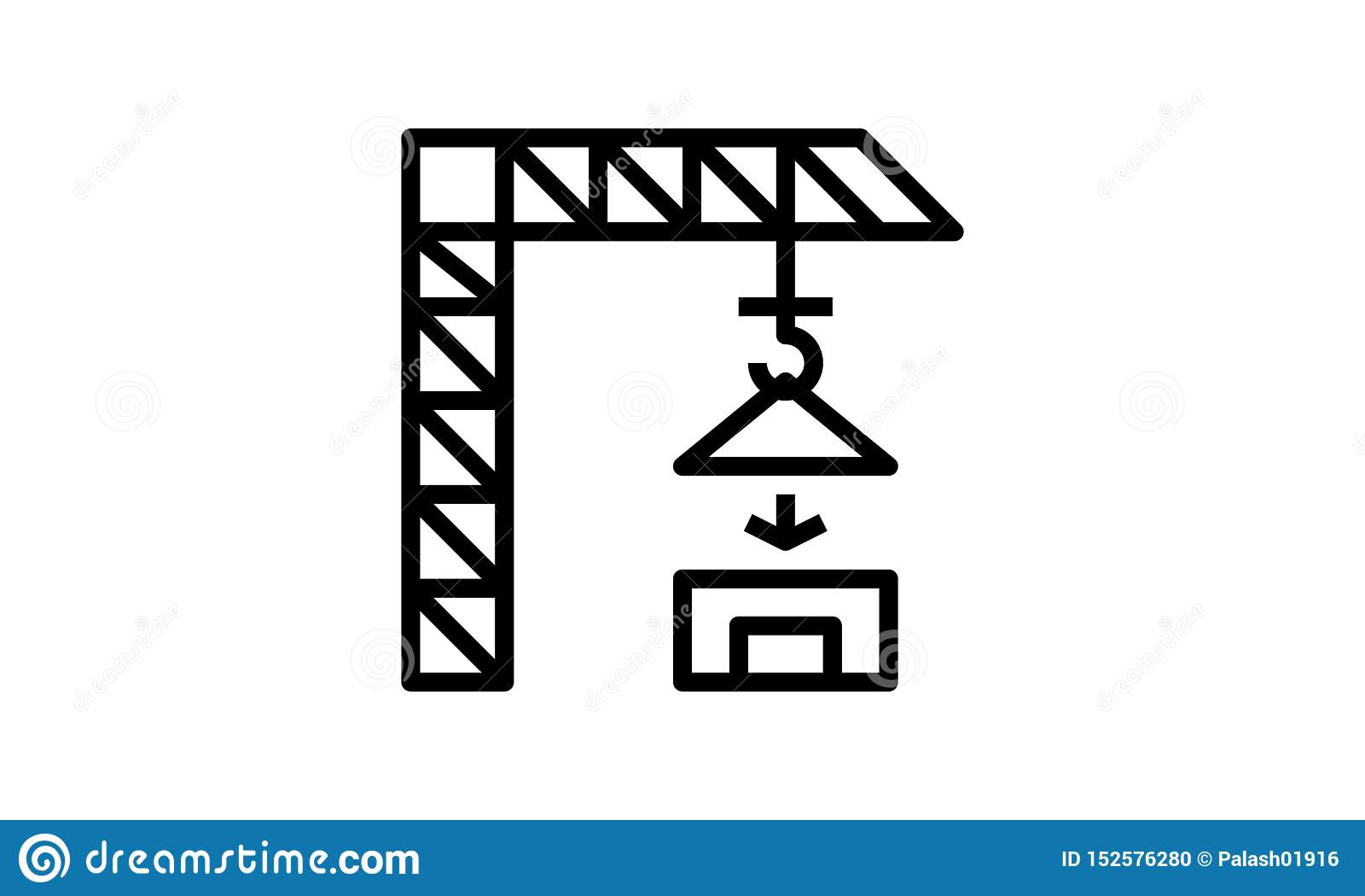 Bella, costruzione meticoloso progettata Crane Icon