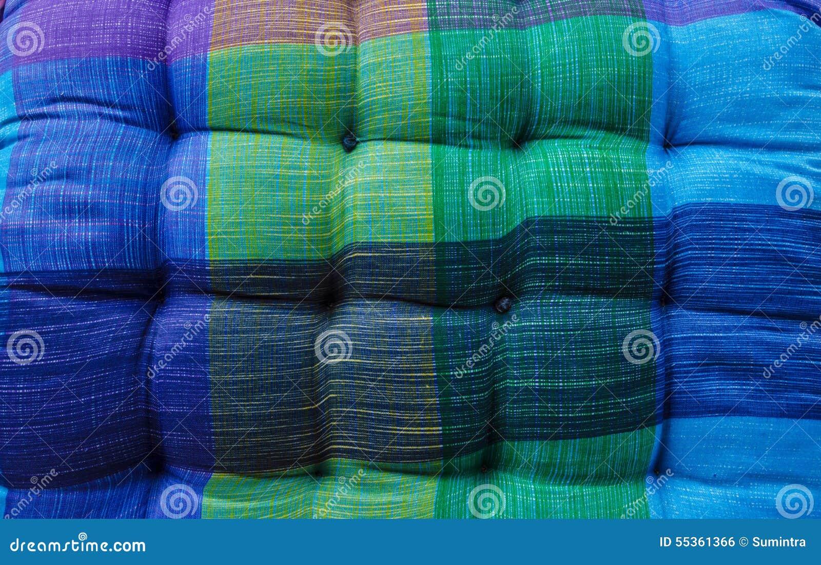 Bella decorazione del cuscino della sedia di colore