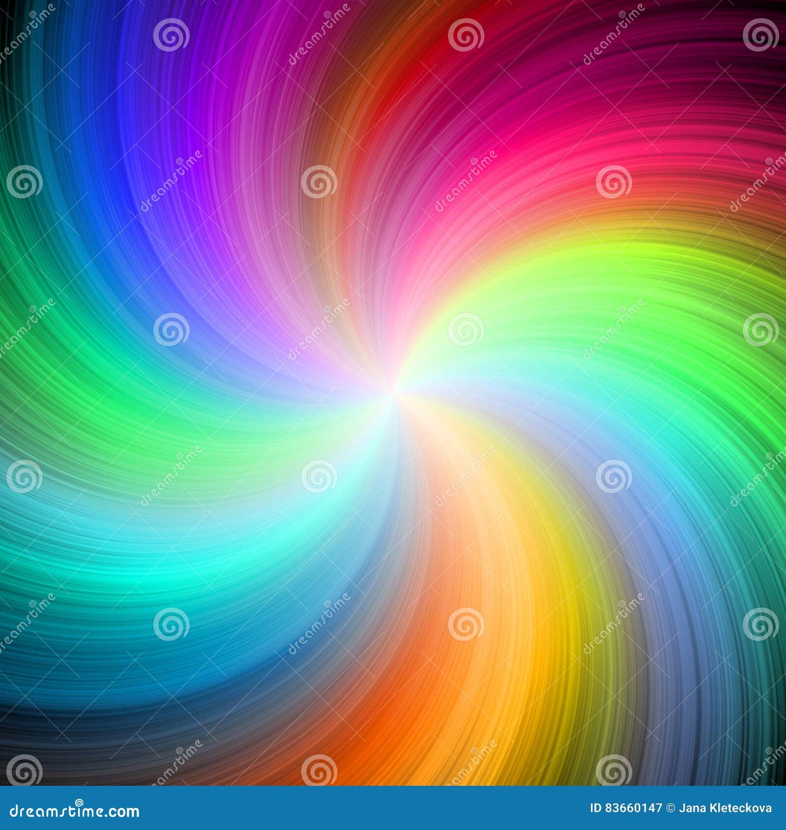 Bella Immagine Di Sfondo Allegra Di Turbinio Dell Arcobaleno Illustrazione Di Stock Illustrazione Di Allegro Ottimista 83660147