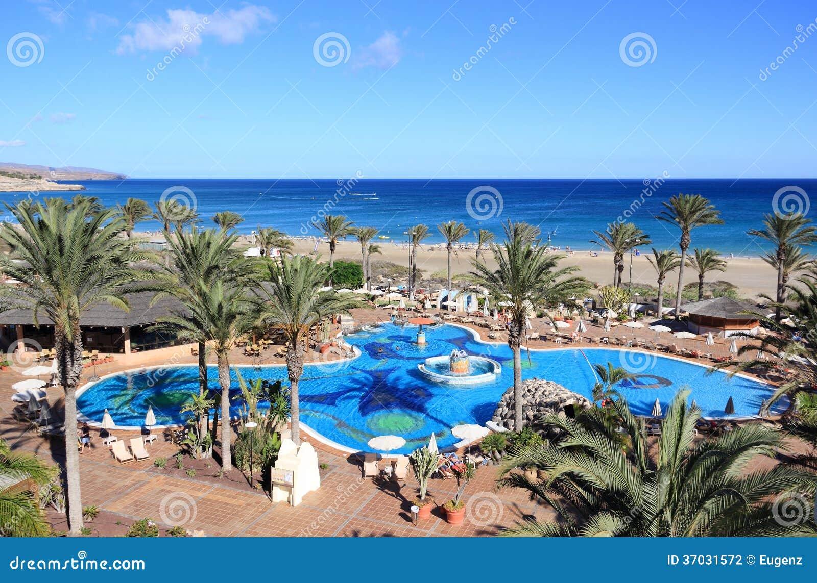 Bella Località Di Soggiorno A Fuerteventura, Isole Canarie ...