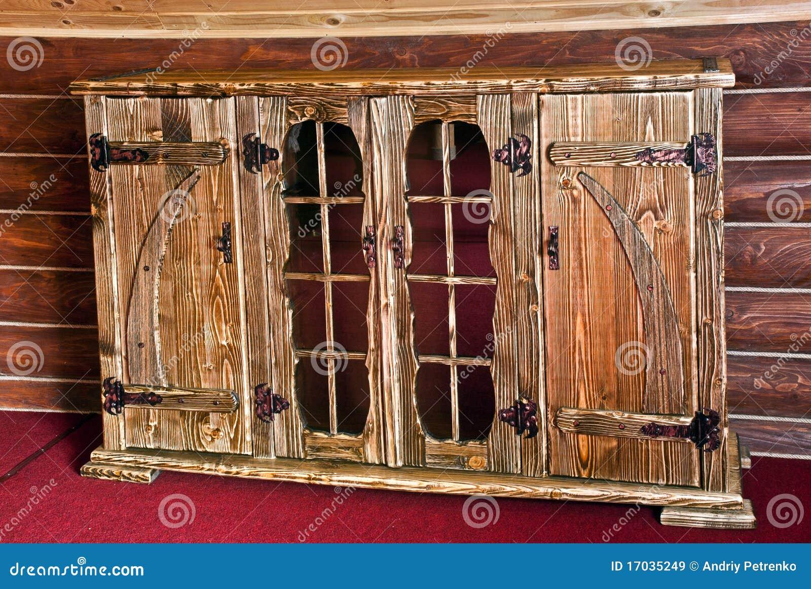 Bella mobilia di legno dura immagine stock immagine di for Mobilia 9 6