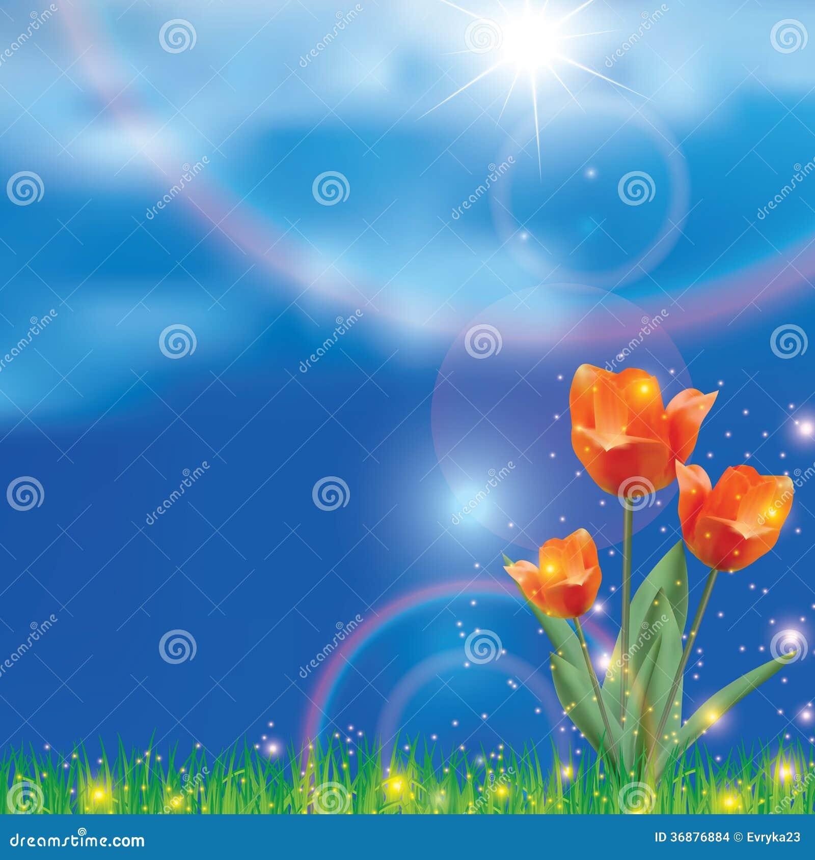 Download Bella molla realistica illustrazione di stock. Illustrazione di flora - 36876884