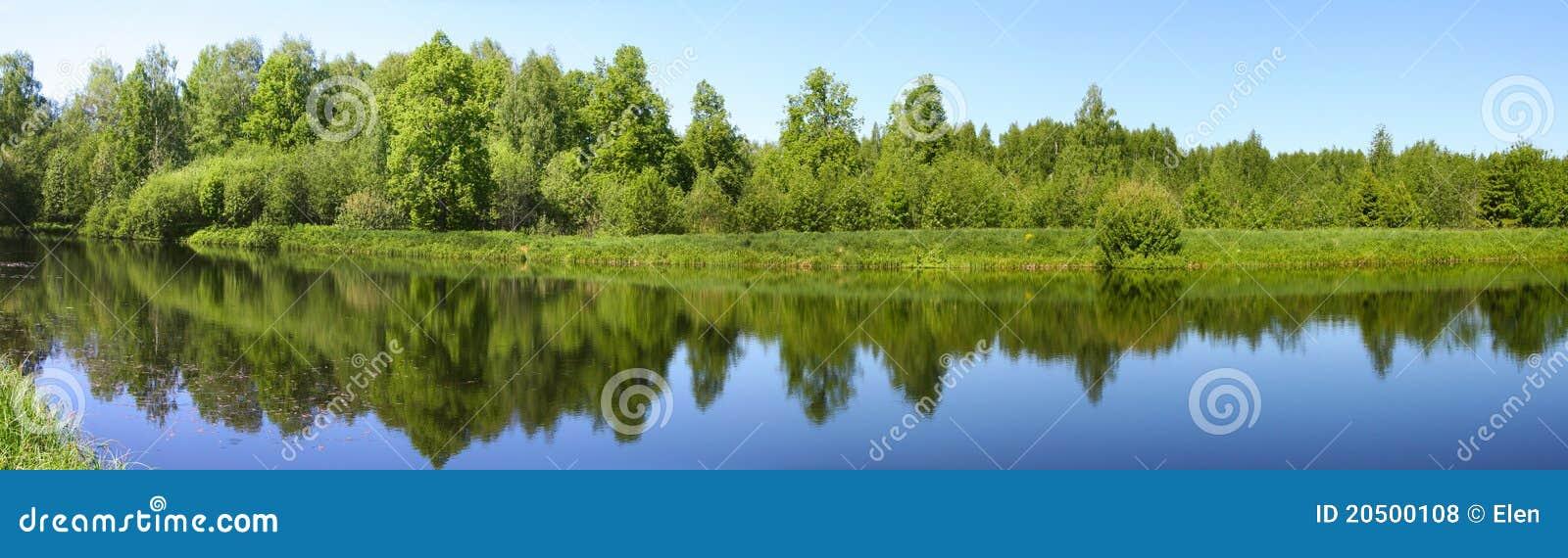 Bella natura, paesaggio panoramico