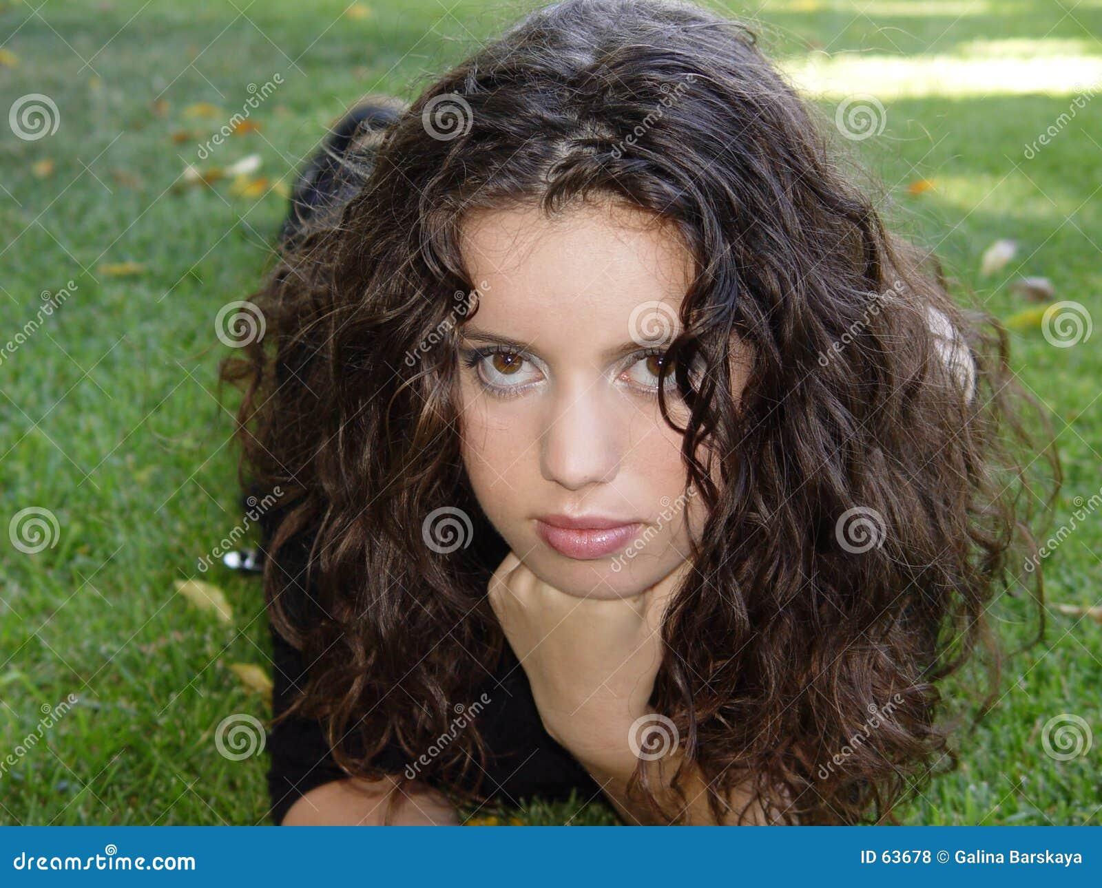 Download Bella ragazza fotografia stock. Immagine di femmina, naughty - 63678