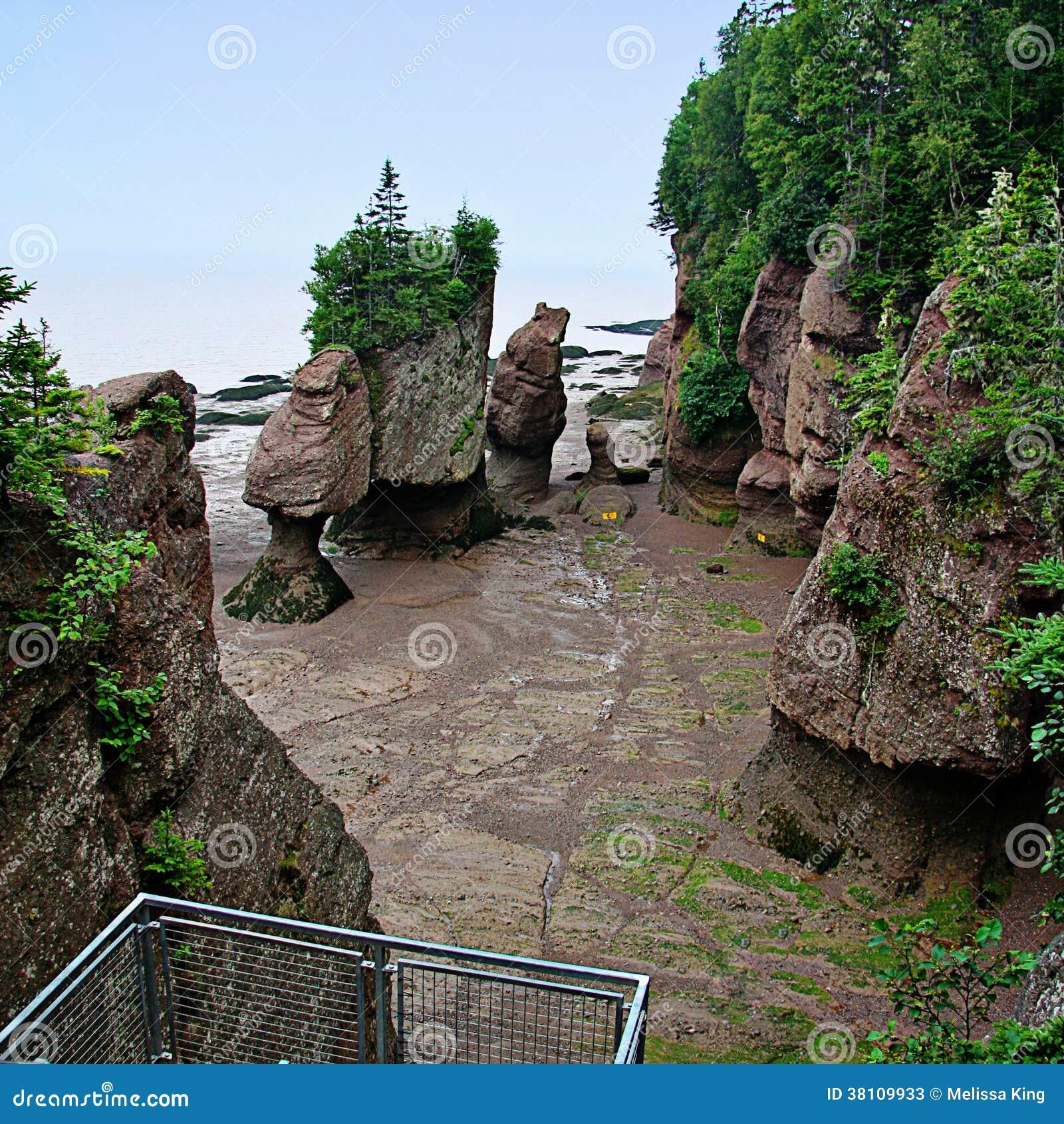 Bella spiaggia sabbiosa con le rocce
