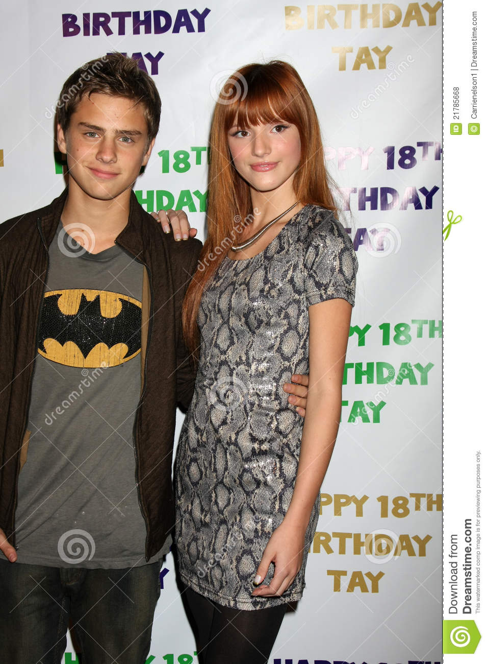 Bella Thorne And Garrett Backstrom Bella Thorne, G...