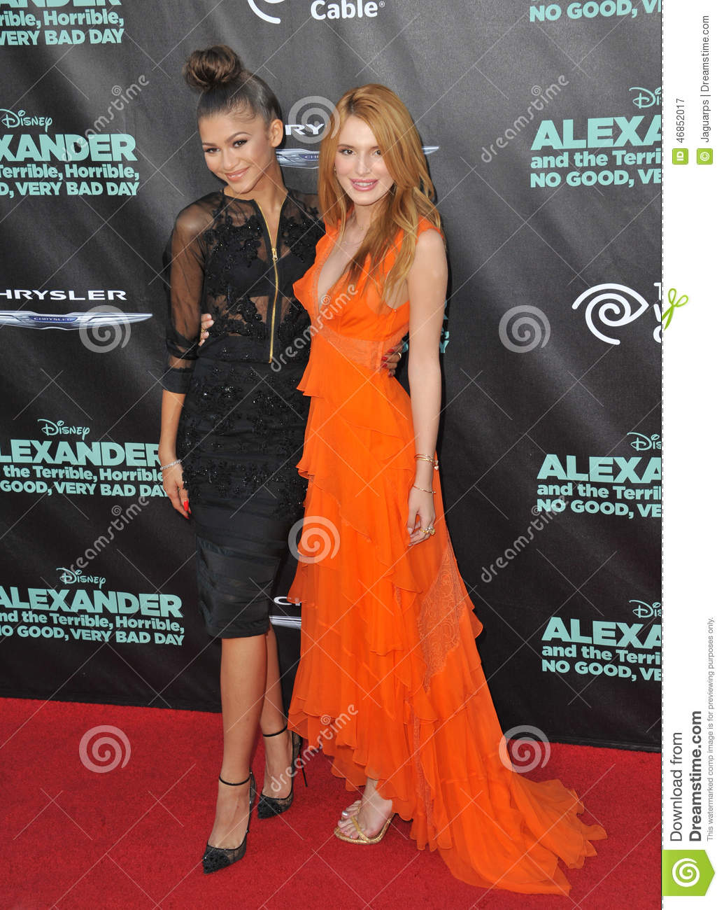 Bella Thorne & Zendaya editorial photography. Image of ...