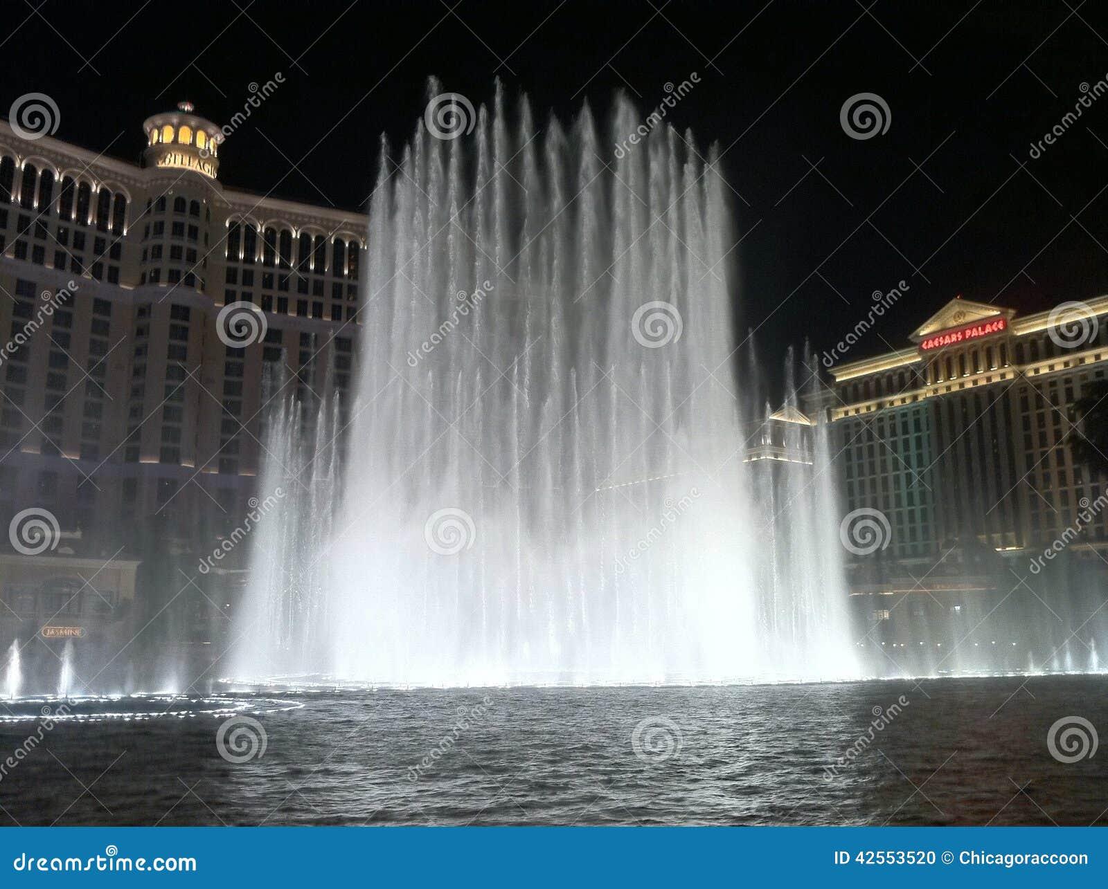 Bellagio fontanna